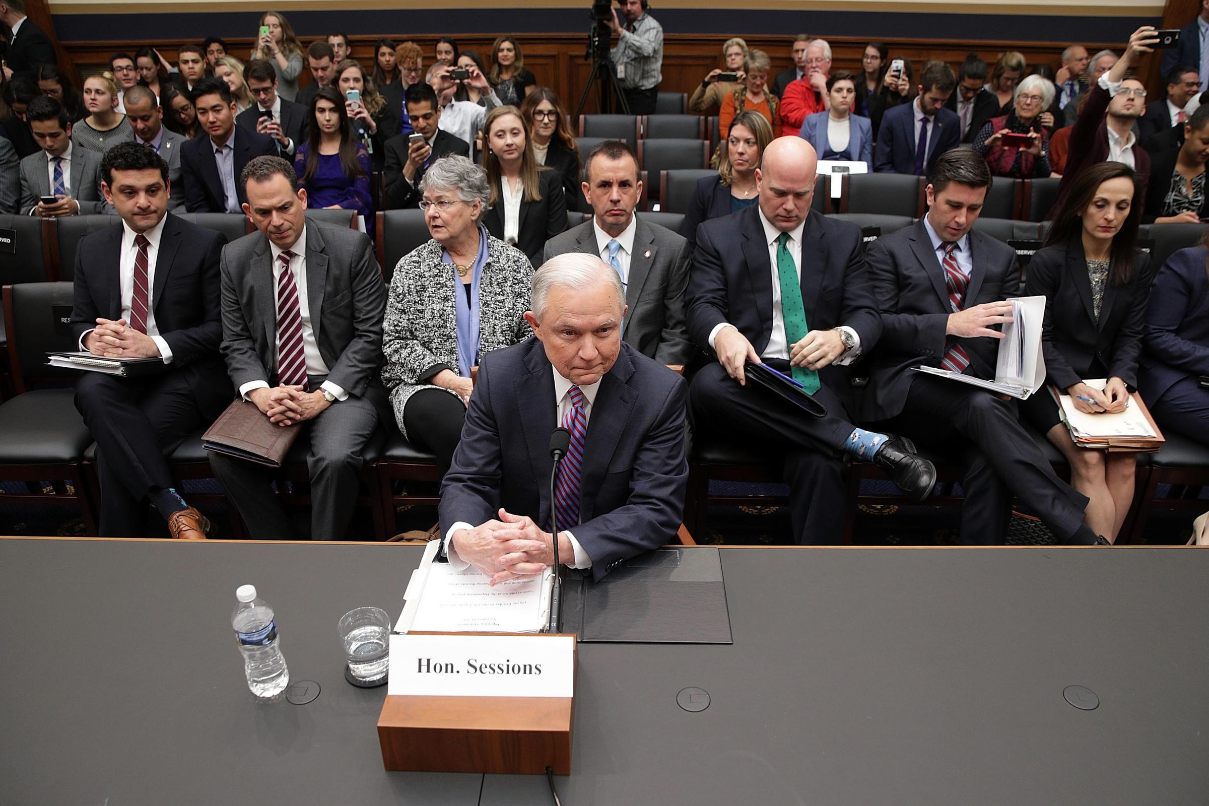 Trump requested top Republicans end Senate Russia probe