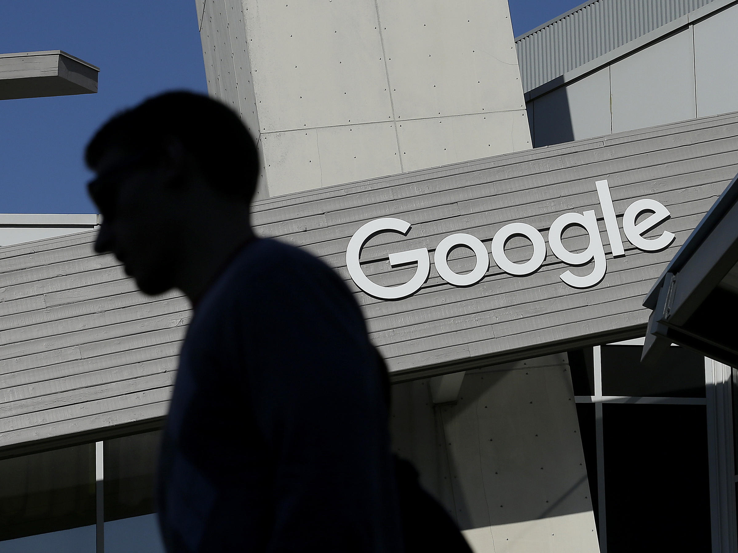 A Man Walks Past Building On The Google Campus In Mountain View Calif Search Results About Health Can Be Influential But Sometimes They