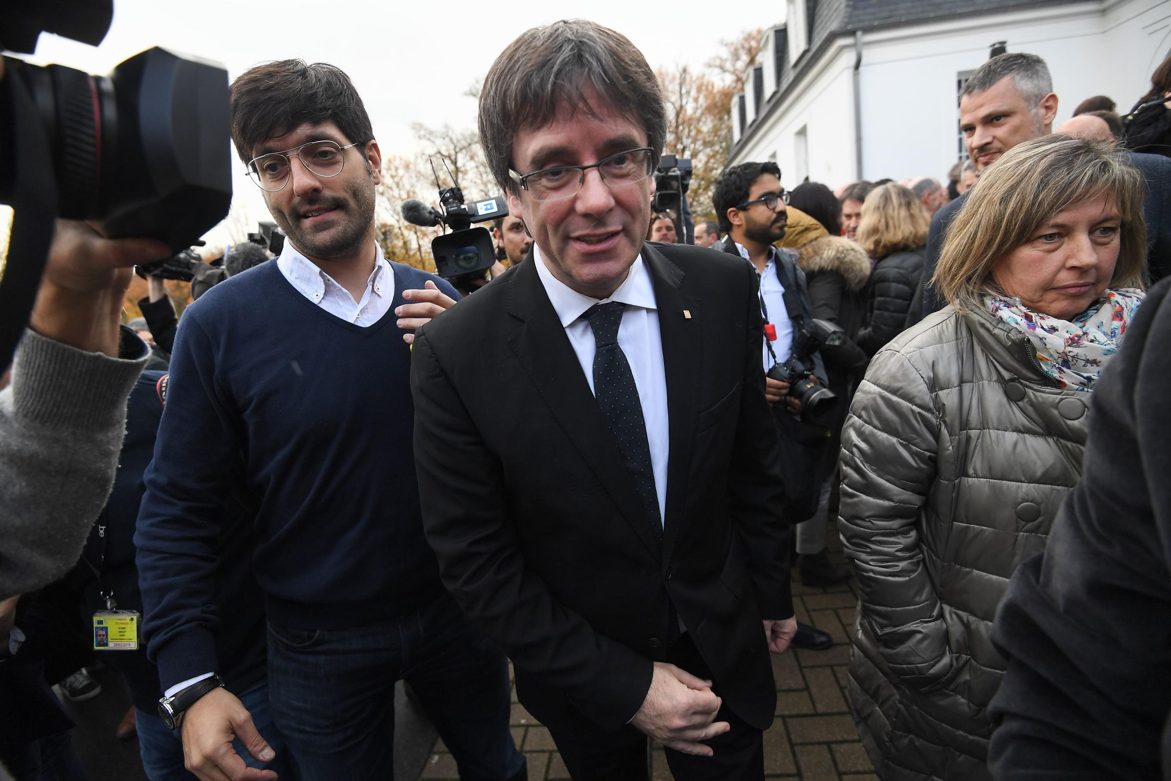 Judge refuses to free four Catalan leaders as elections near