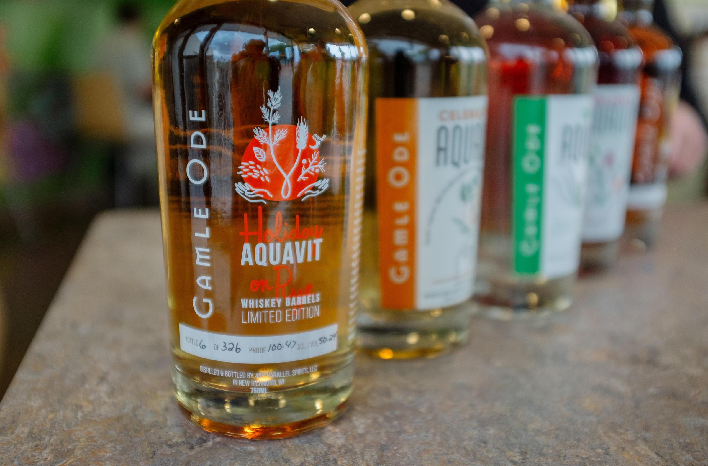 After scandinavian spirit shortage american distillers for Aquavit and the new scandinavian cuisine
