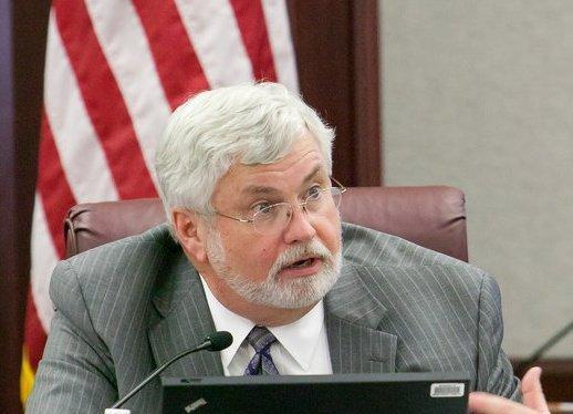Sen. Jack Latvala delivers resignation letter