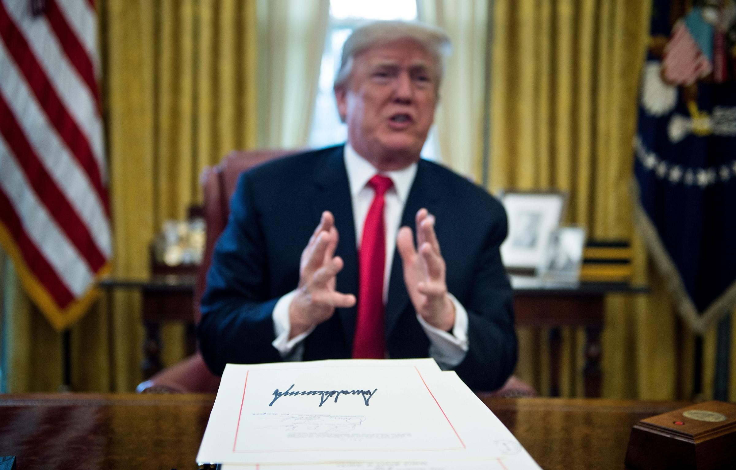 Trump Signed 96 Laws In 2017. Here Is What They Do And How ...