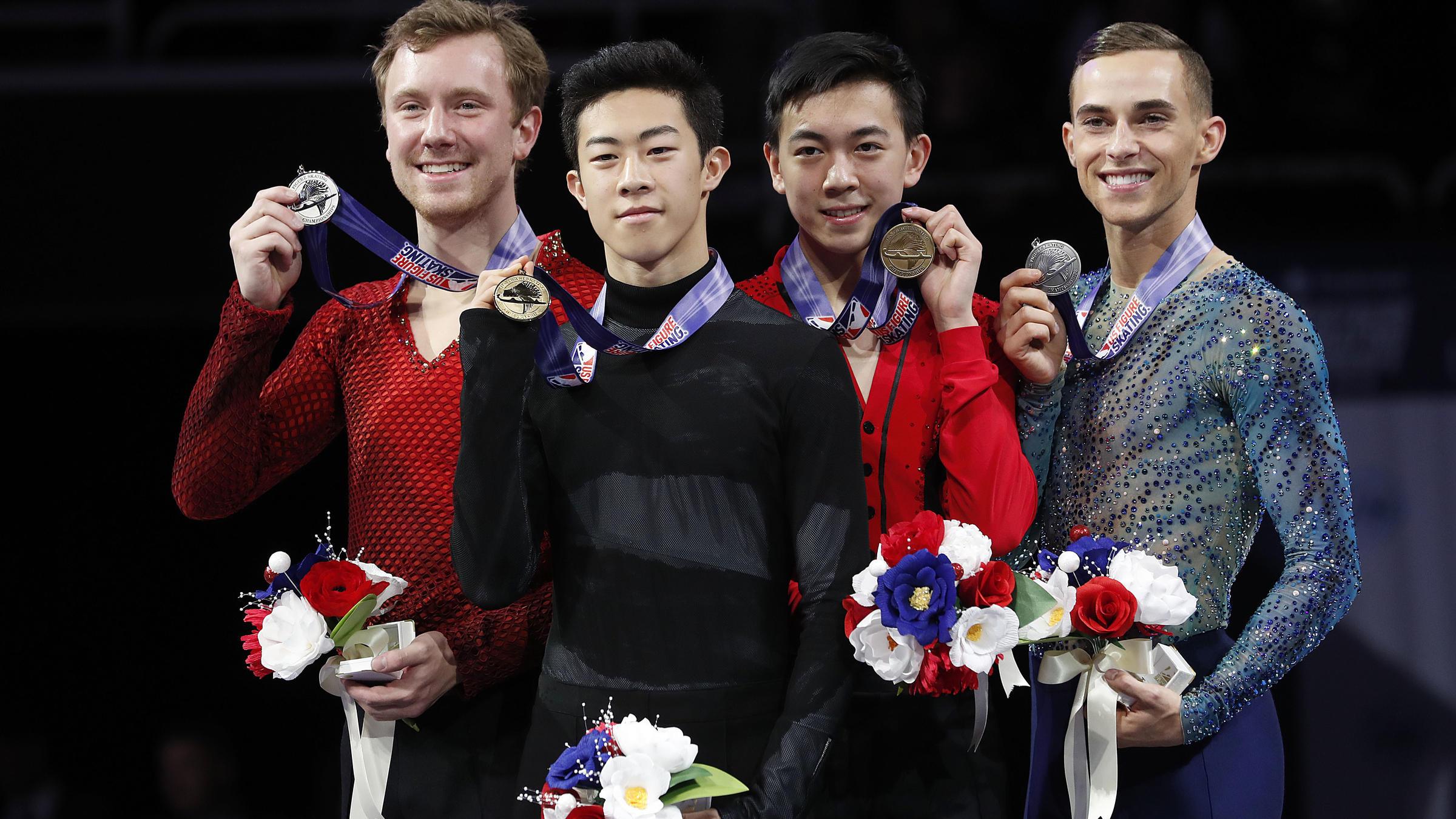 Highland Park's Jason Brown named Olympic alternate in figure skating