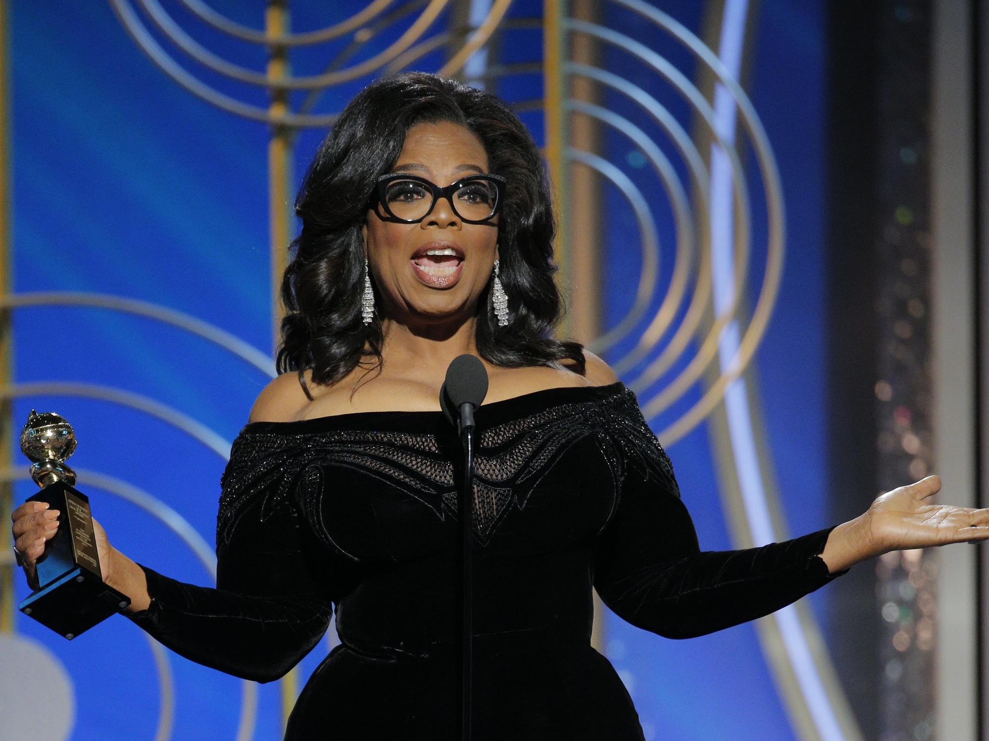 Trump says he would beat Winfrey in presidential contest