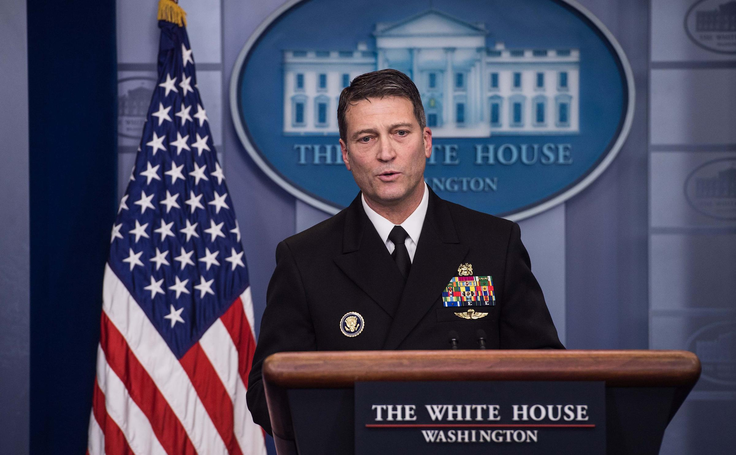 Dr. Ronny Jackson's glowing bill of health for Trump