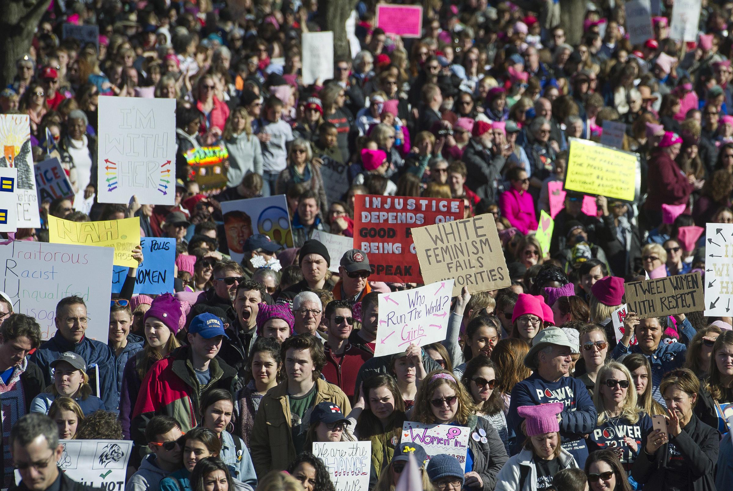 Still Pretty Damn Mad Protesters Unite In Second Annual