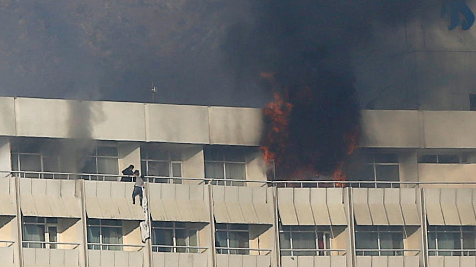 Kabul: Gunmen 'attacking Intercontinental Hotel'