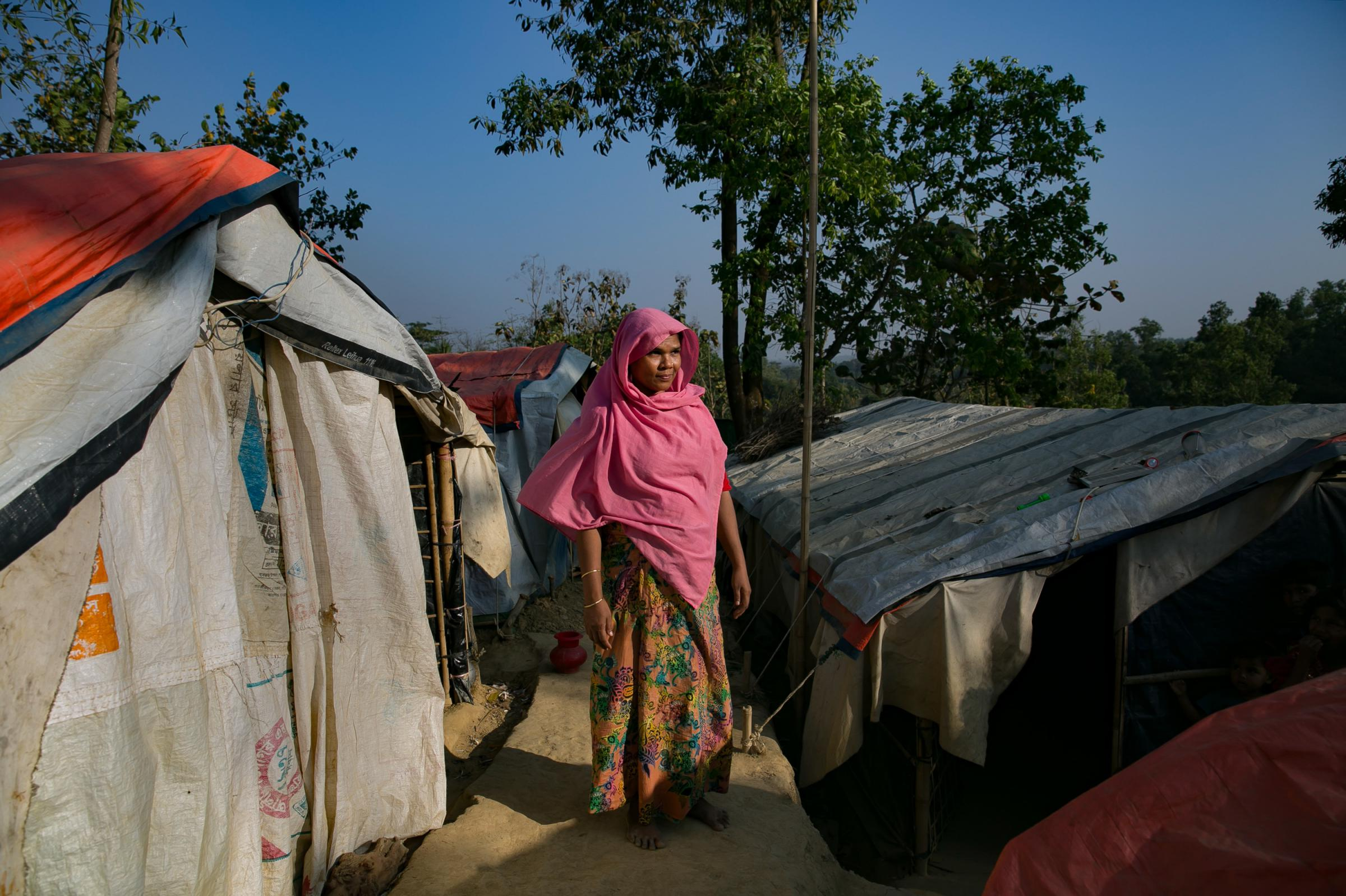 Muslim Rohingya Refugee Leader Stabbed to Death in Camp