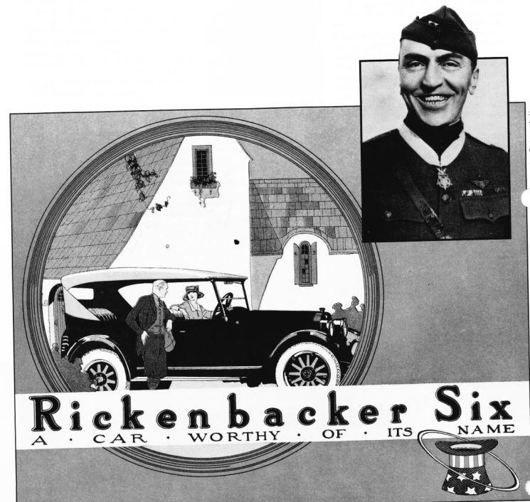 The Company That Invented T: Rickenbacker Came Up With An Innovation That All Cars Use