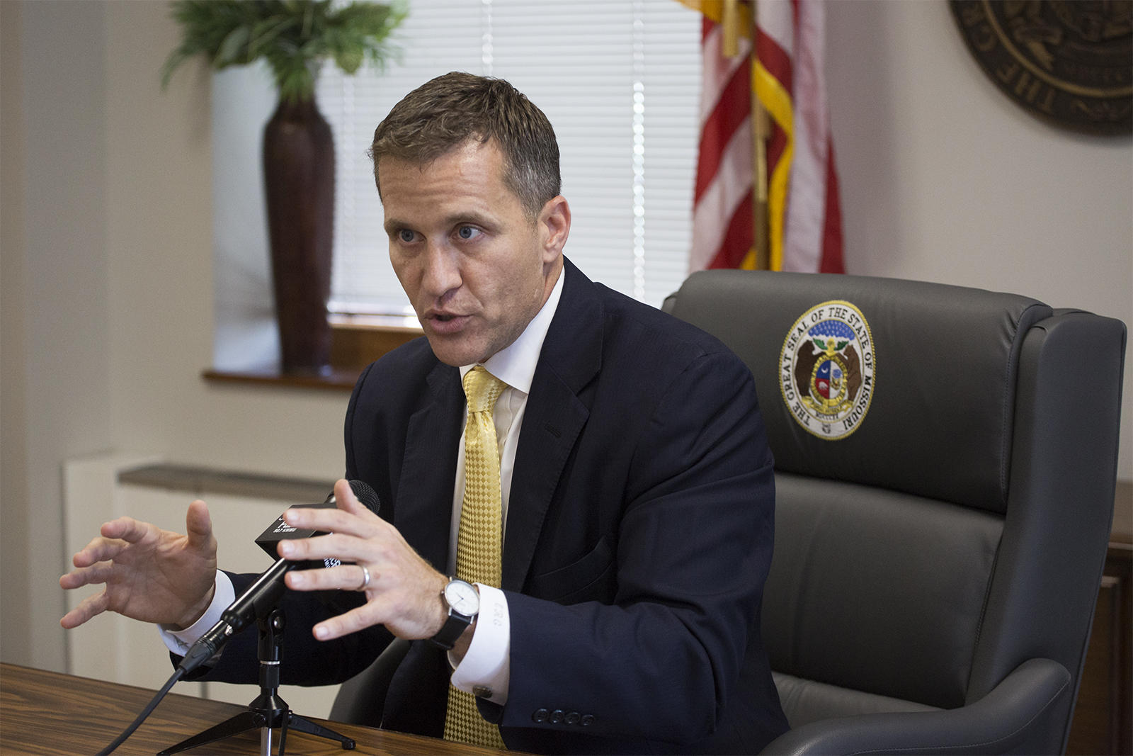 Gov. Greitens to visit Jackson, MO on tour promoting tax cuts