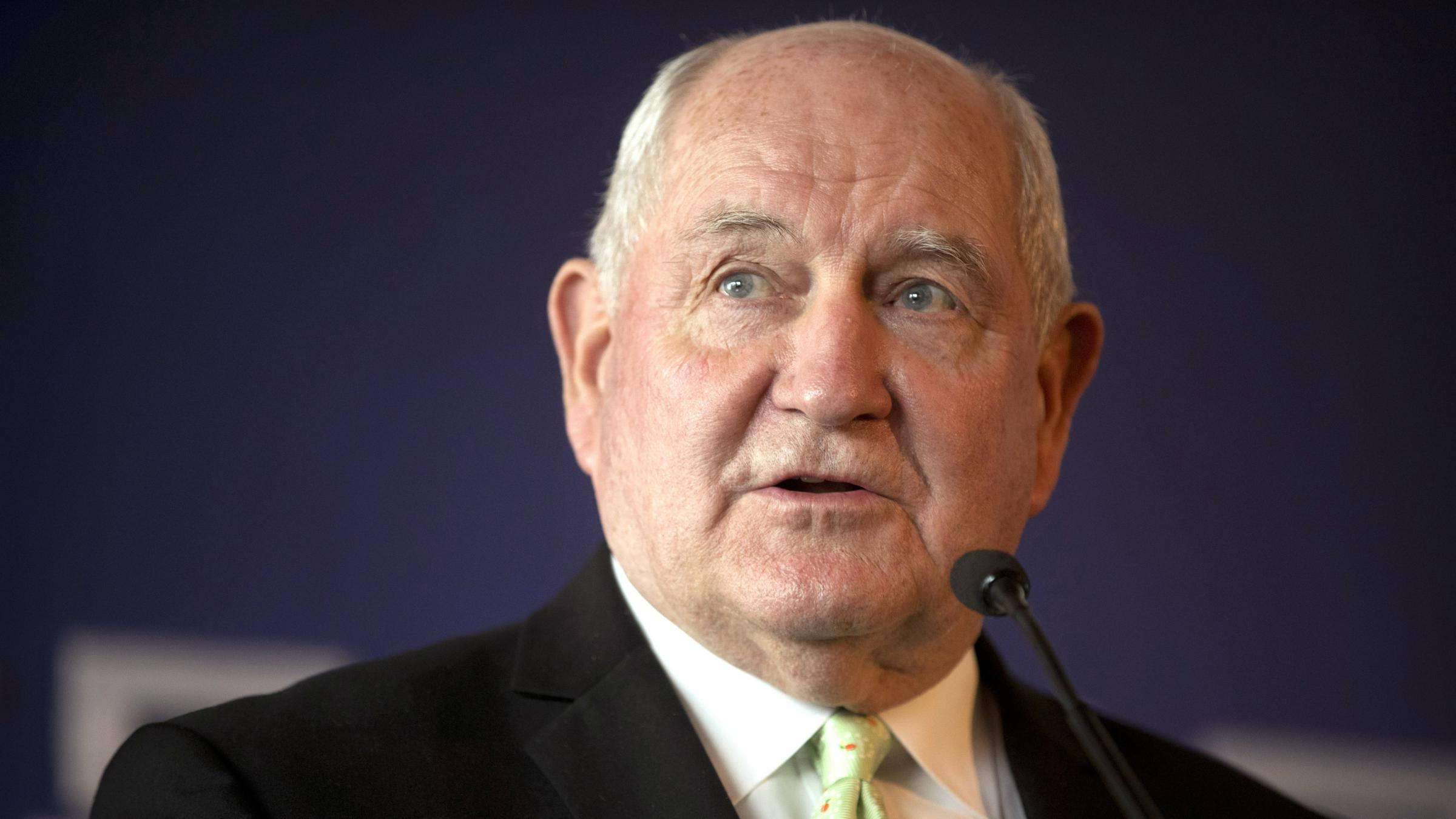 Sonny Perdue is designated survivor for Trump's State of the Union