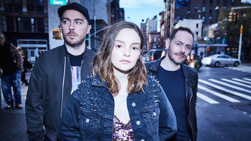 Check out CHVRCHES' brand new track 'Get Out'