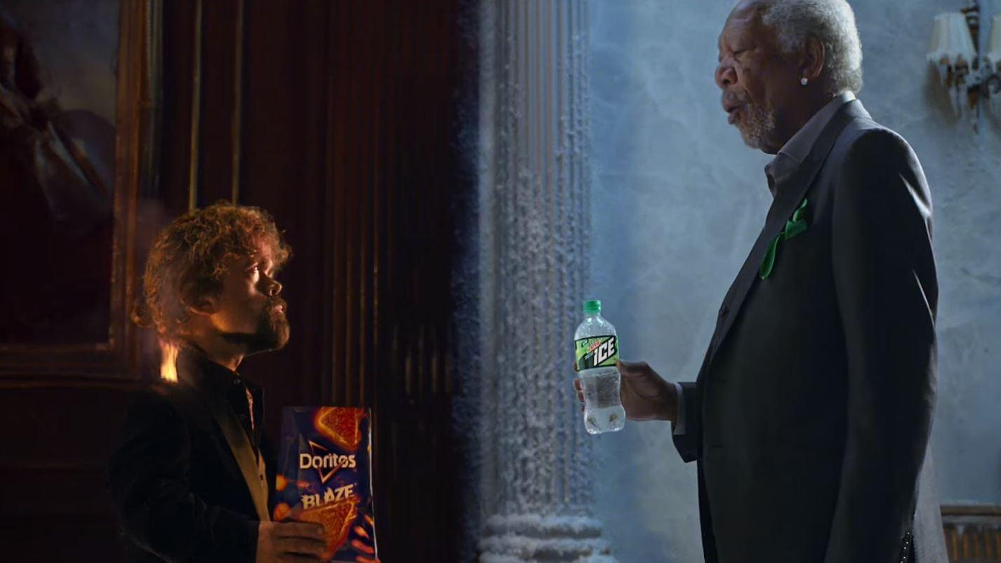 Internet Goes Crazy Over Doritos Ad Feat. Tyrion Lannister, Morgan Freeman