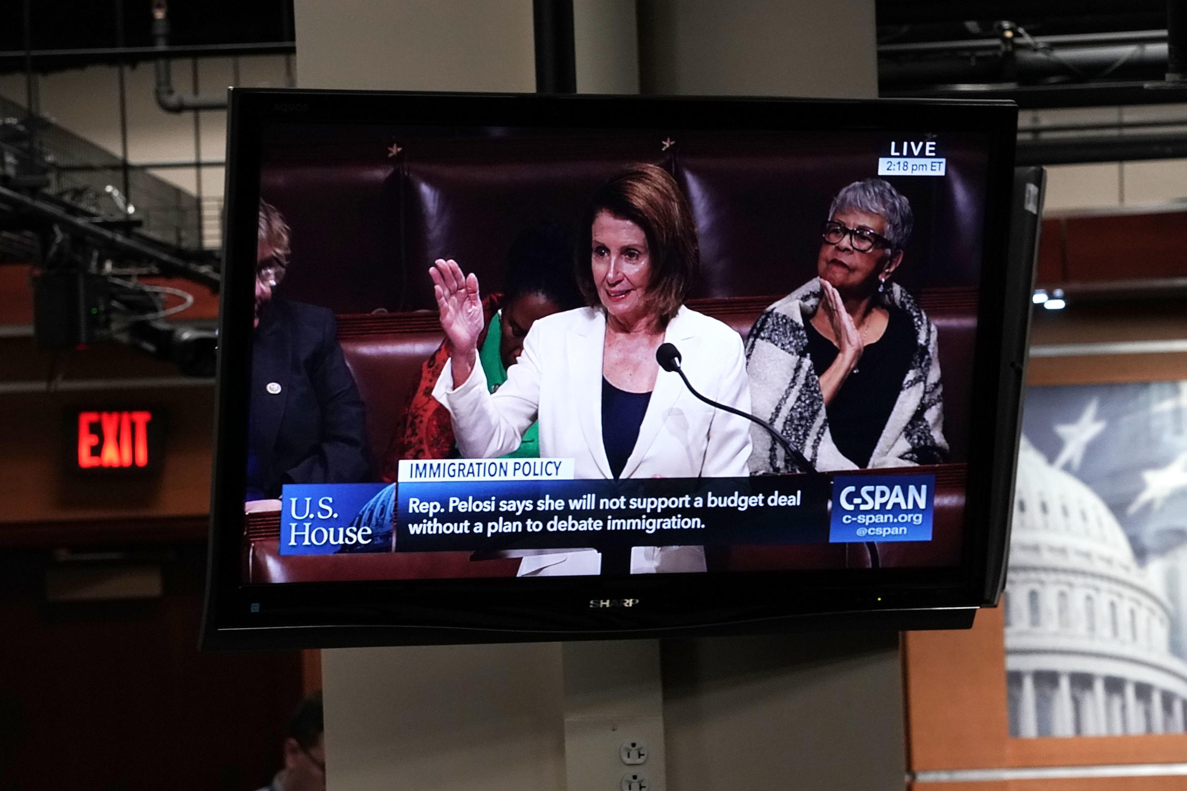 Pelosi takes to the House floor to defend Dreamers