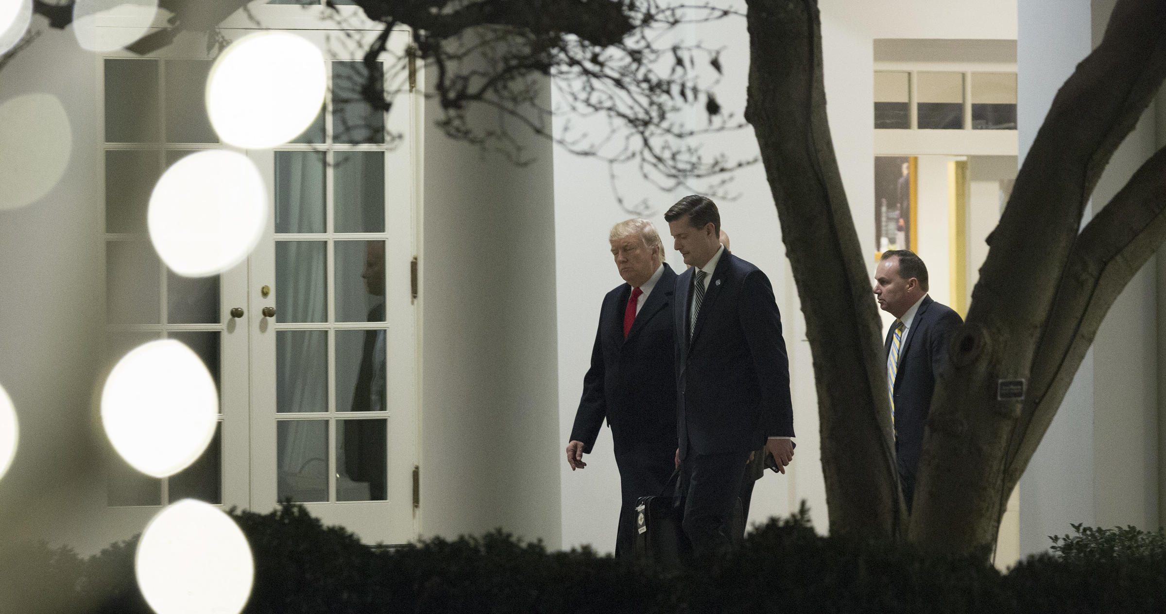 Trump wishes Rob Porter well after resignation