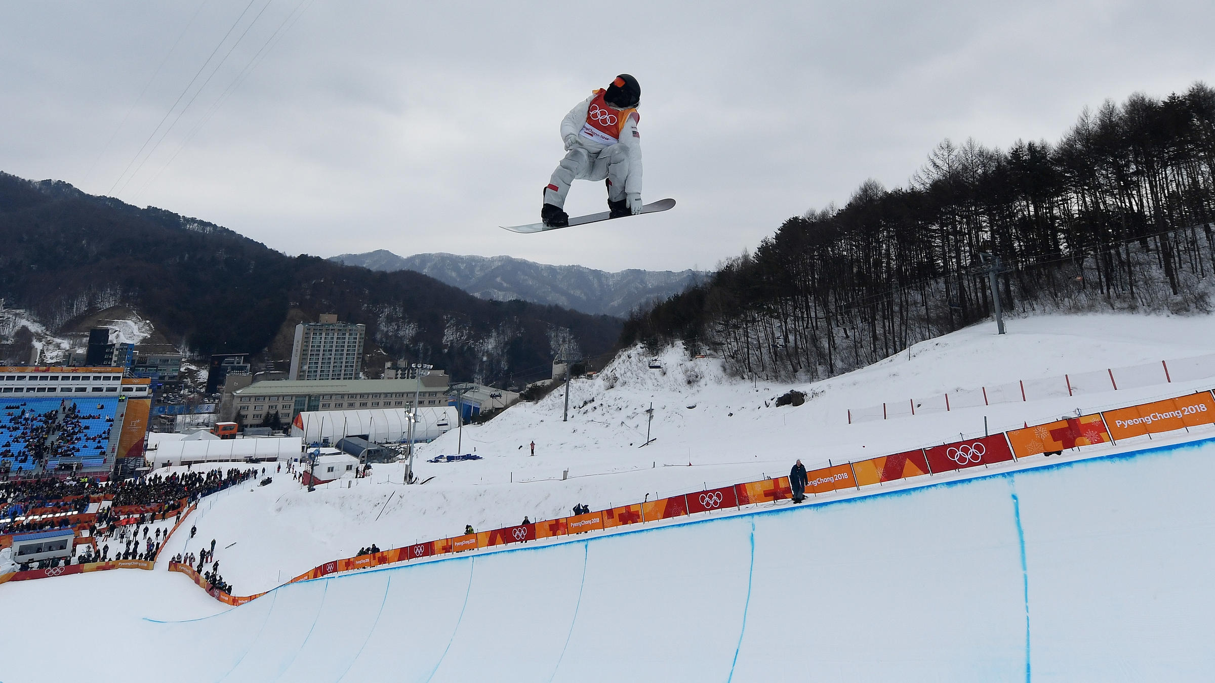 Winter Olympics: Scotty James makes Pyeongchang snowboard halfpipe final