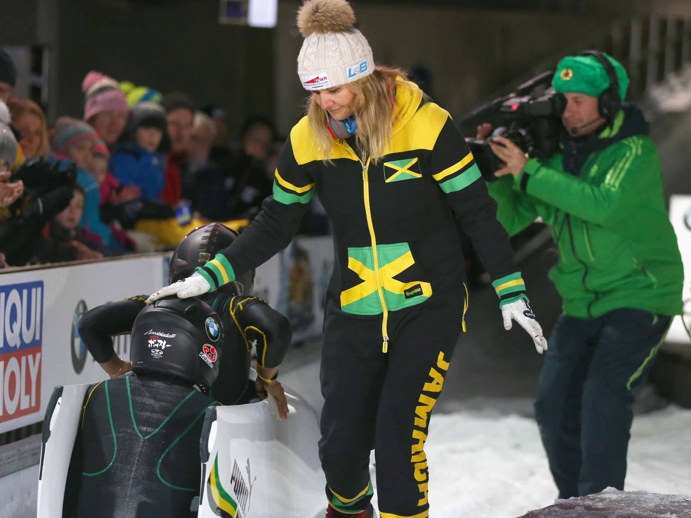 Jamaica women's bobsleigh team in disarray