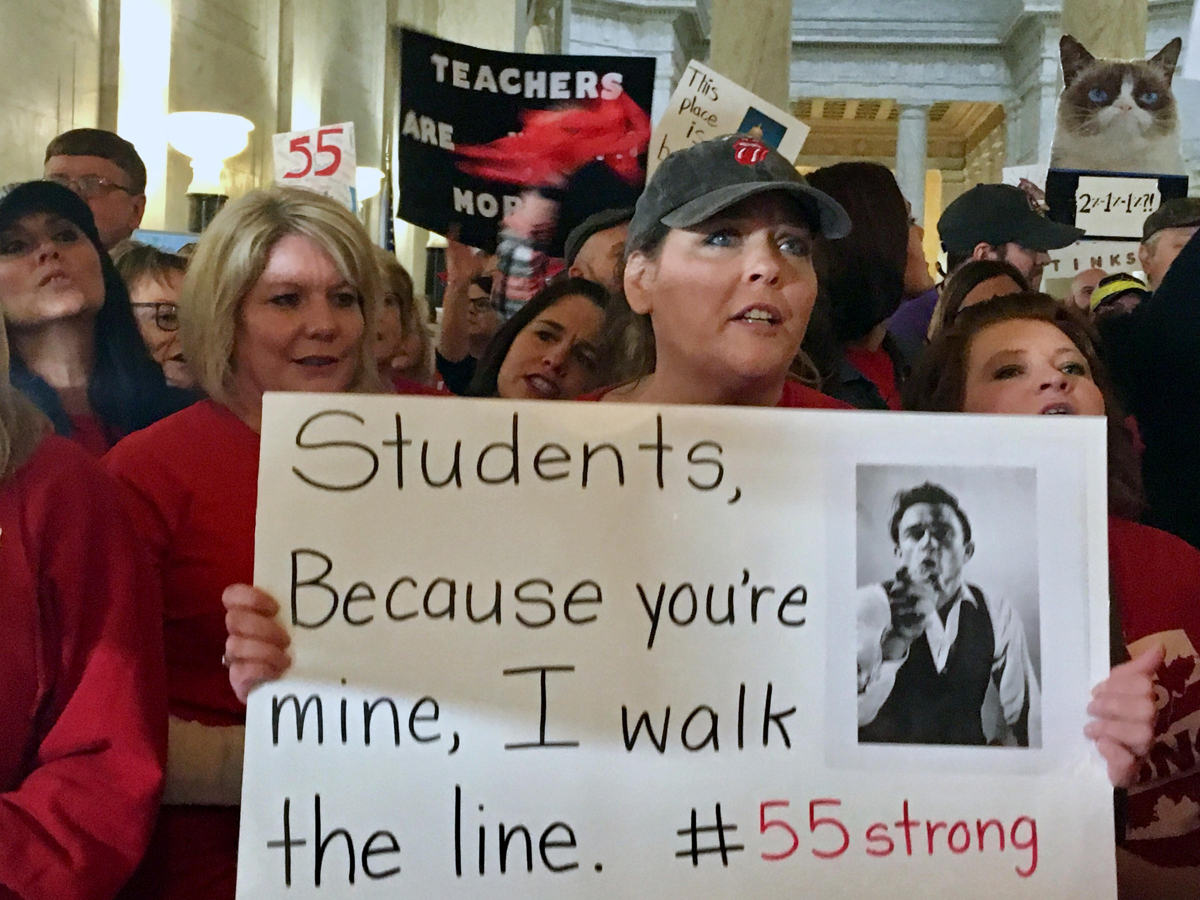 Schools close as teachers protest for better pay, health insurance
