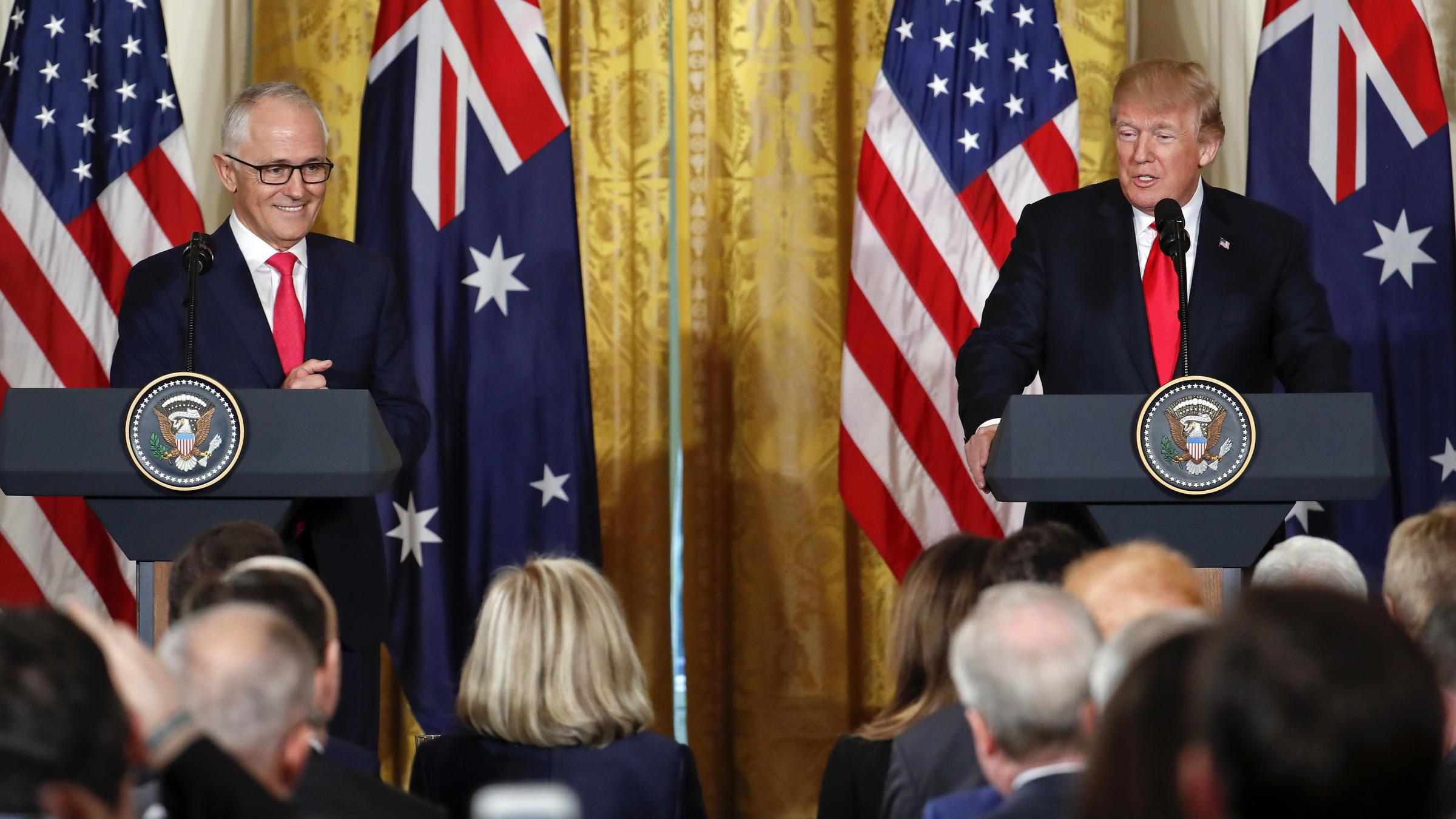 Turnbull leading mega-delegation to US
