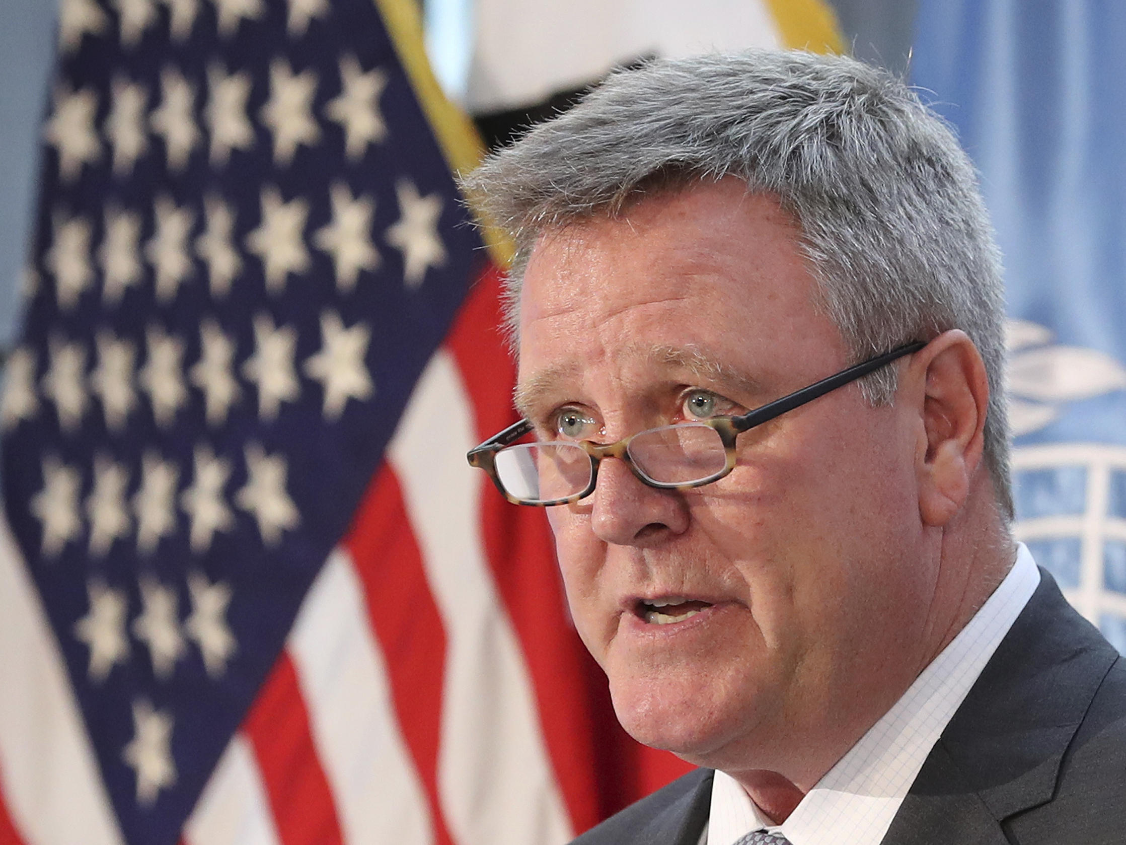 Blackmun steps down as US Olympic Committee chief executive