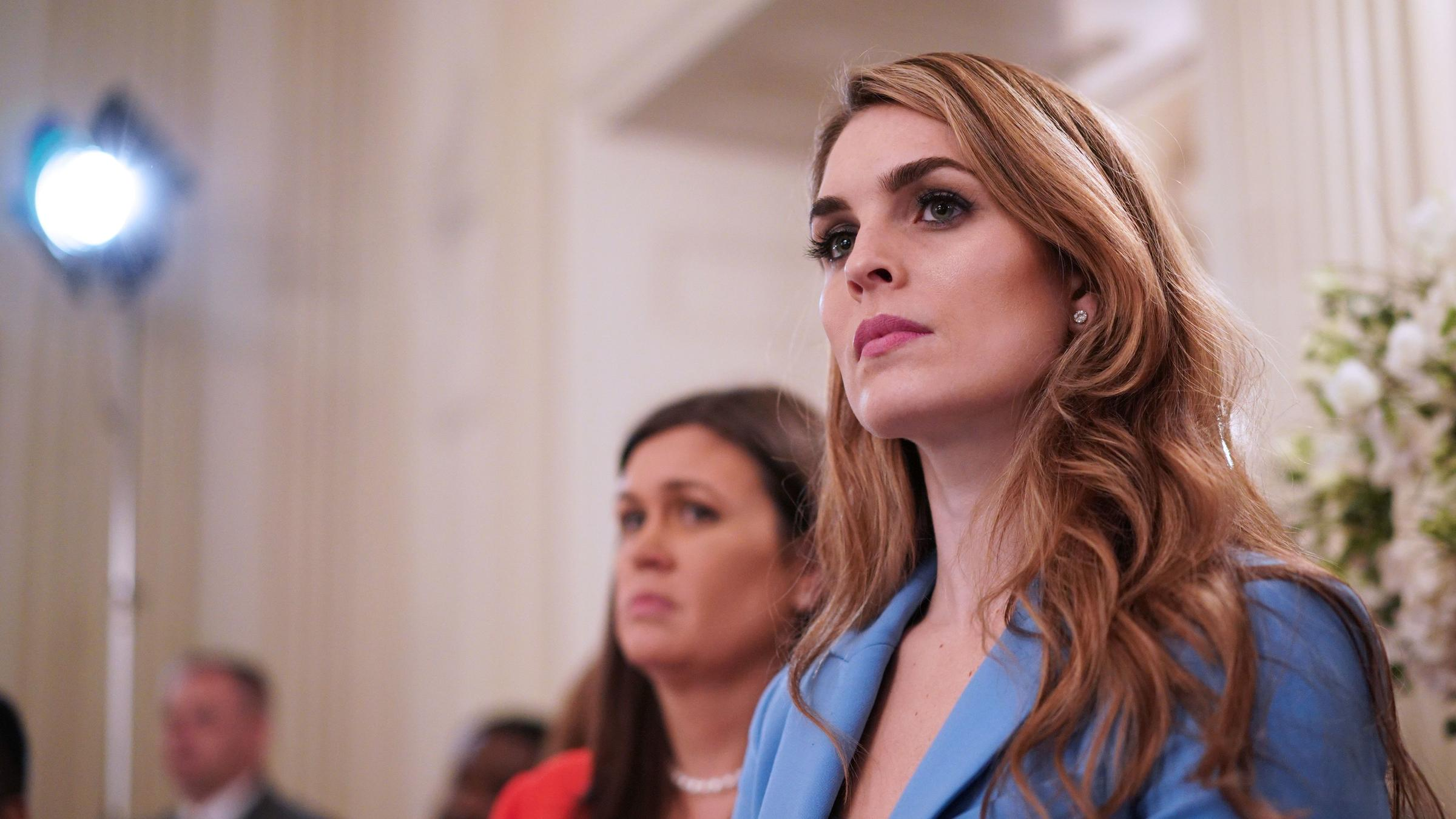 Top Democrat complains about Hope Hicks' evasiveness during Russian Federation interview