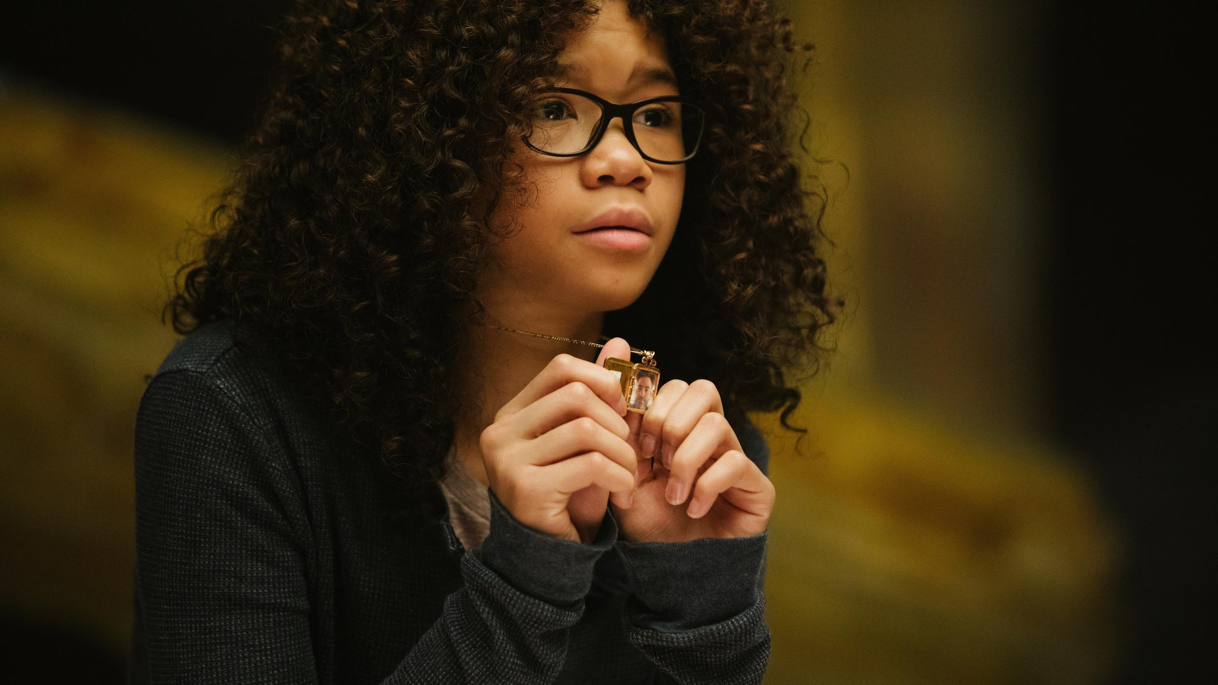 Storm Reid plays Meg Murry in Disney's A Wrinkle In Time based on the acclaimed book by Madeleine L'Engle