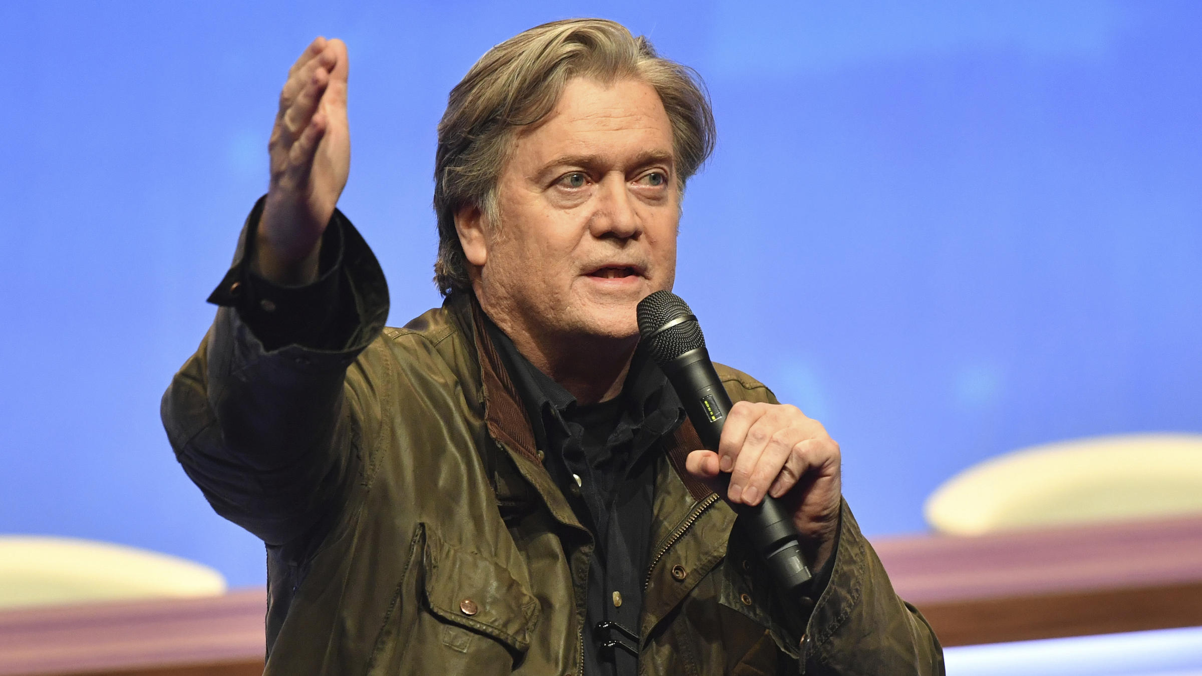 Trump's ex-aide Bannon to address National Front congress in France