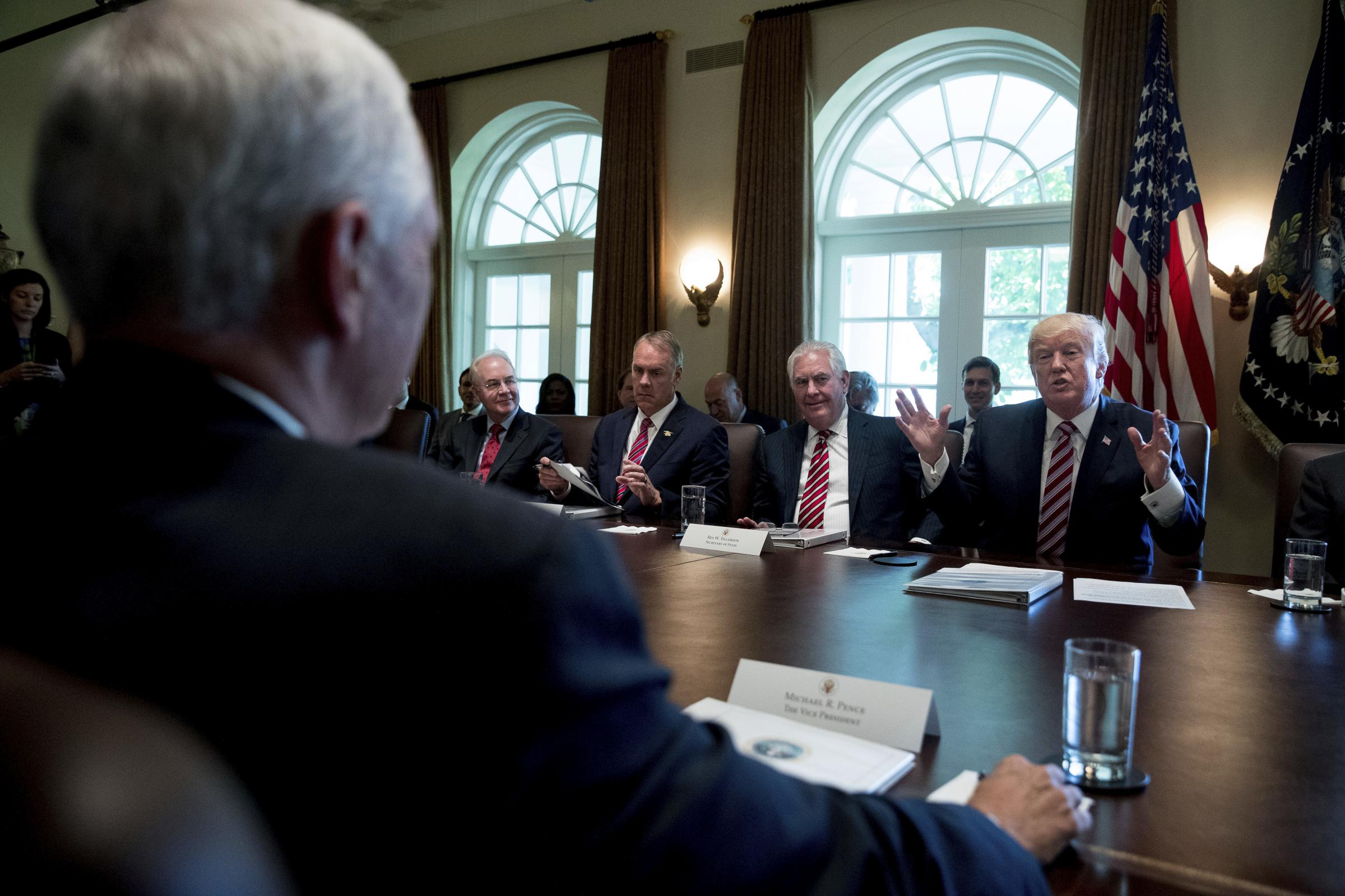 Trump Cabinet Turnover Sets Record Going Back 100 Years WUWM