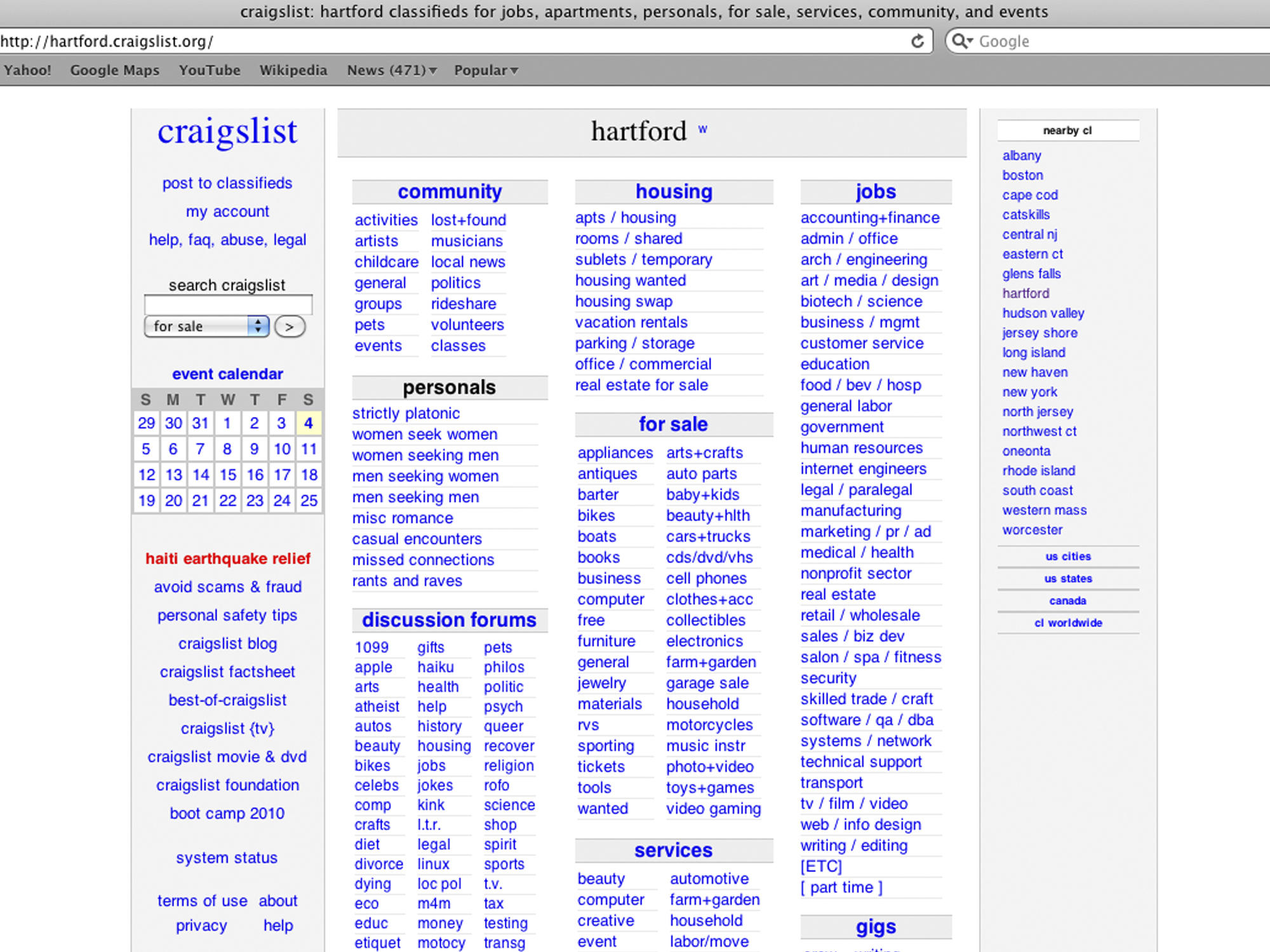 Craigslist said Friday that it is taking the site's personals section  offline.