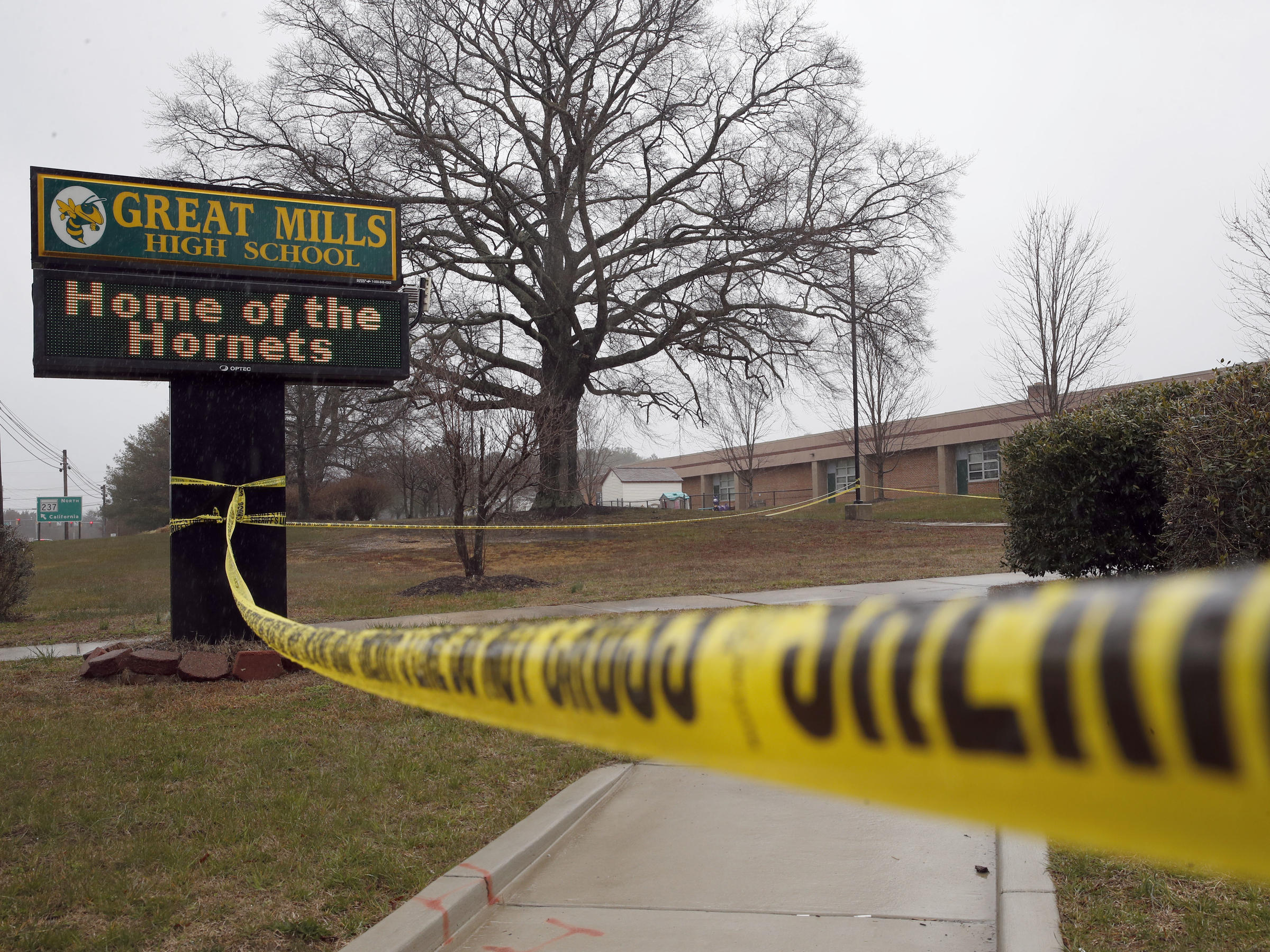 Great Mills HS shooter died from self-inflicted gunshot wound, police confirm