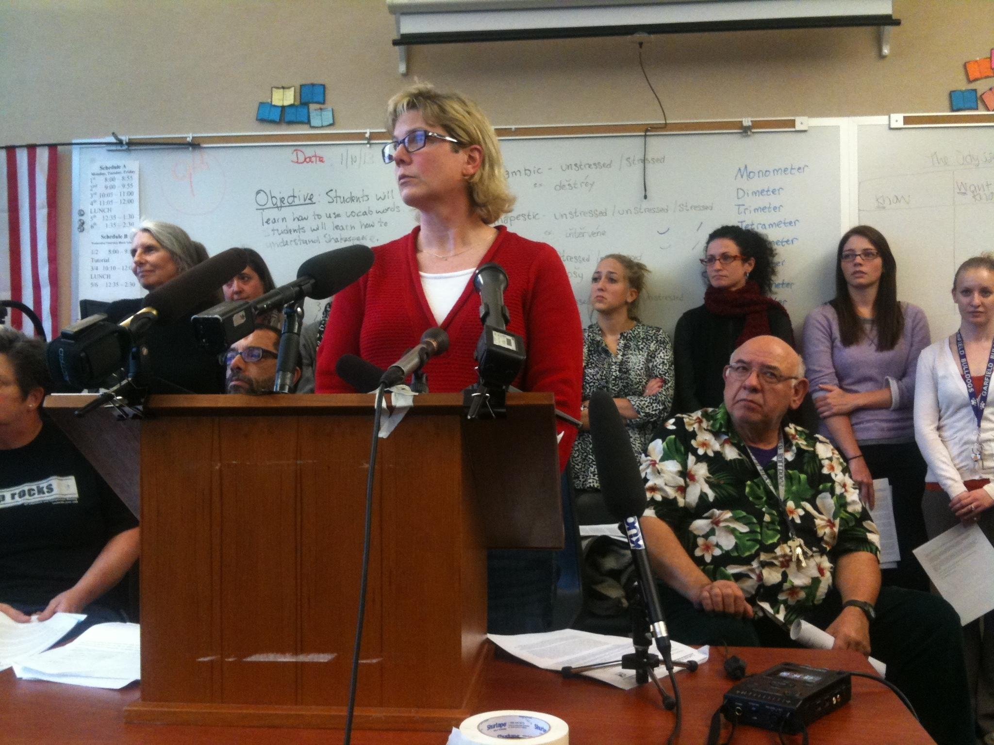 Seattle High Schools Teachers Toss Districts Test Vermont Public
