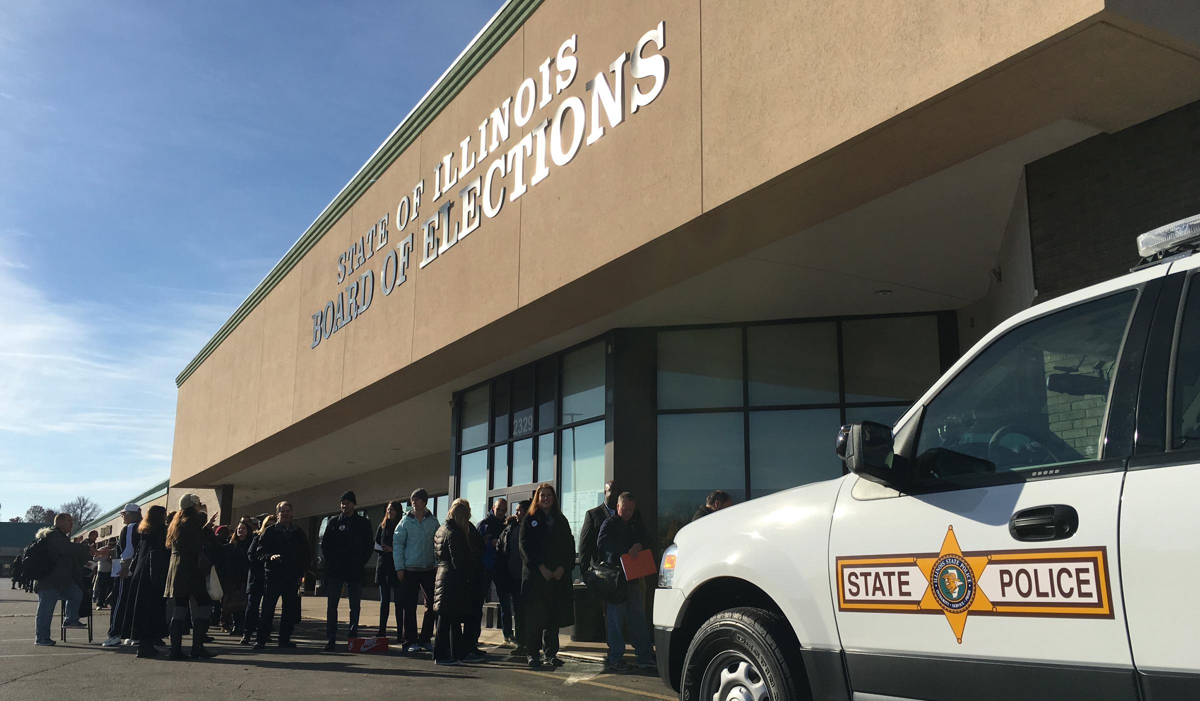 Filing For Election, Finding Lines And Friendship   Peoria ...