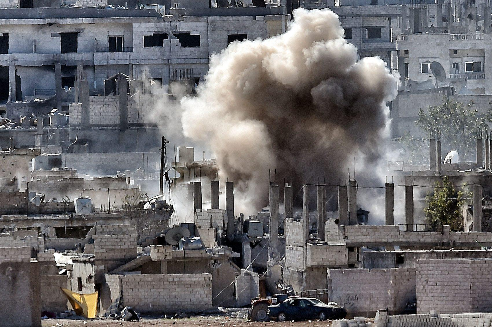 United States to withdraw from Syria, declares ISIS 'almost completely destroyed'