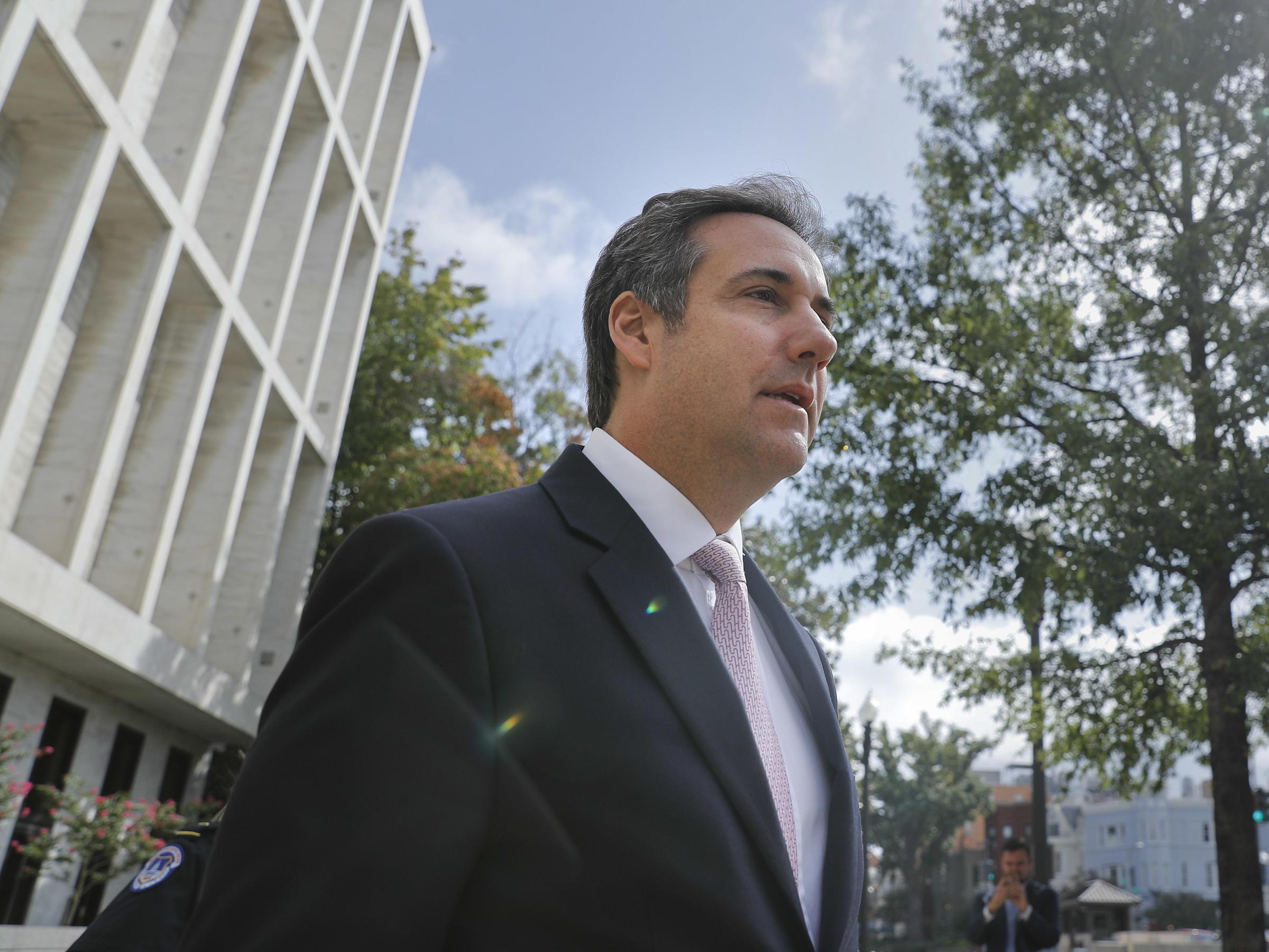 FBI Raids Michael Cohen's Office