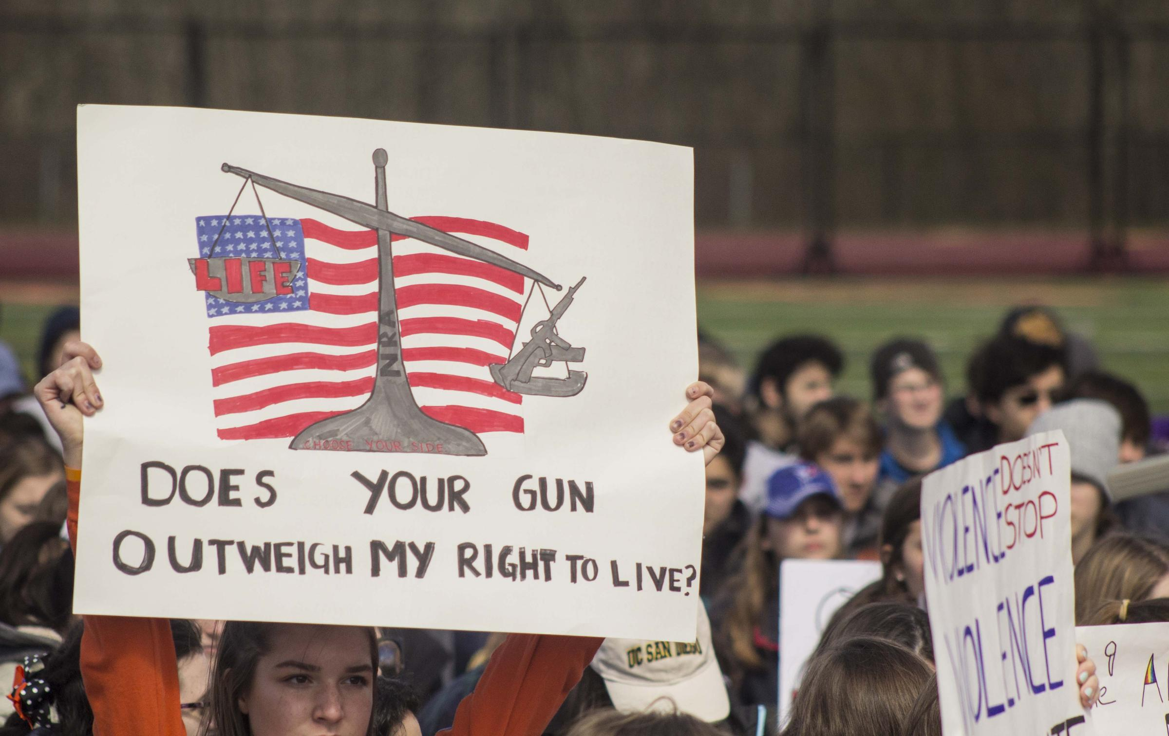 Walkouts spark protests against gun violence