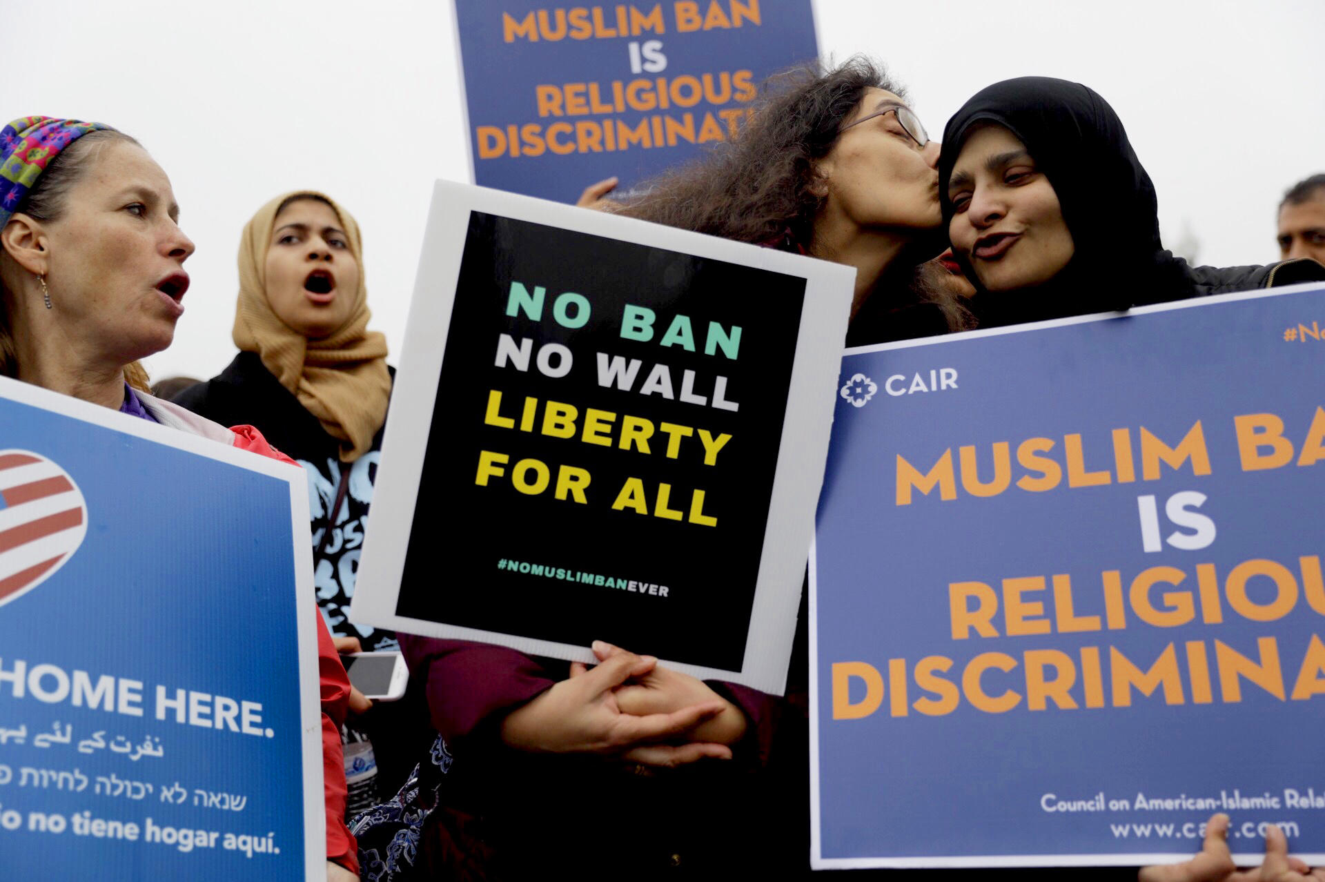 Supreme Court Justices Suggest They'll Allow Trump Travel Ban