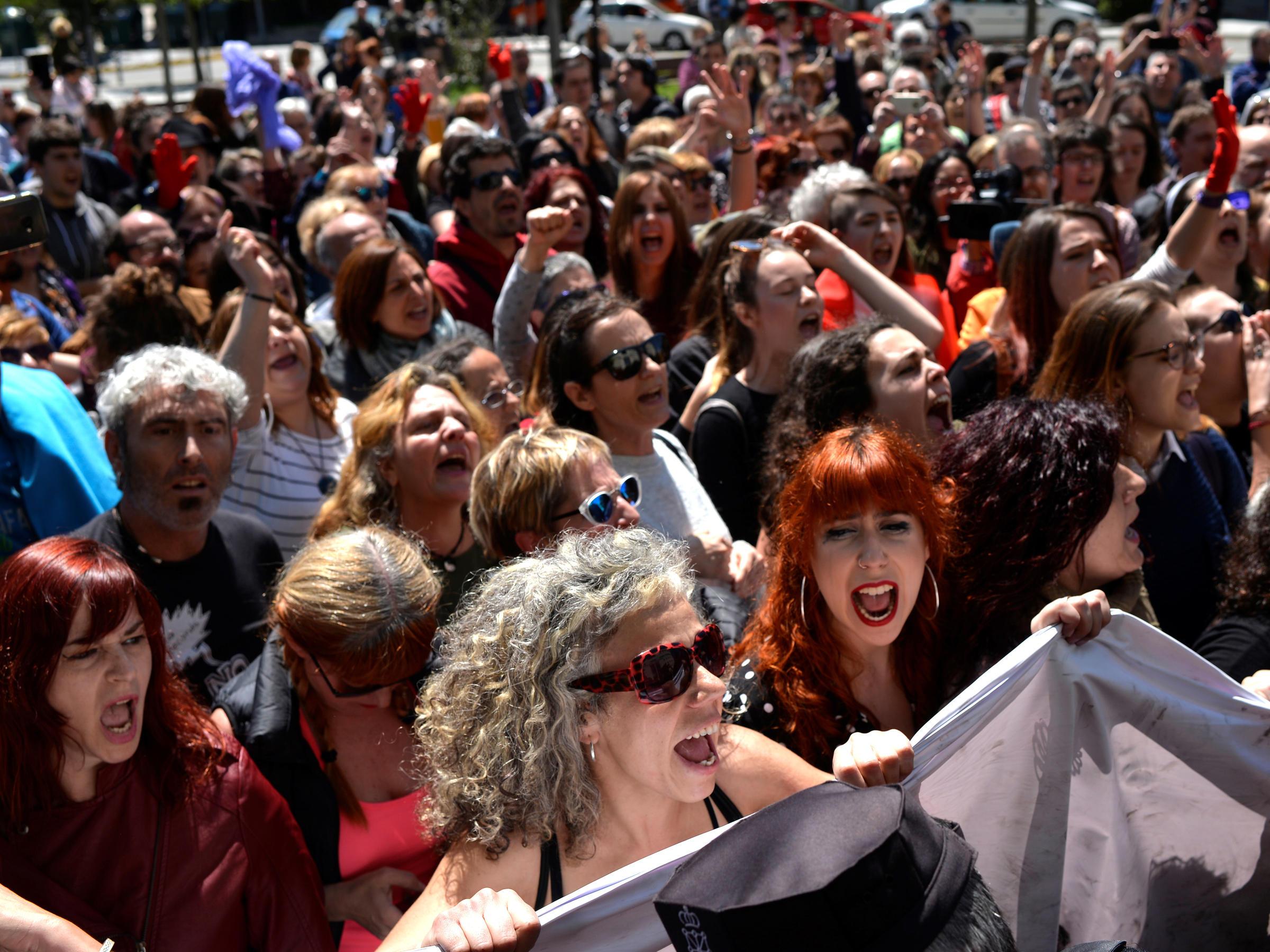 Pamplona court jails 'wolf pack' gang over San Fermin festival sex assault