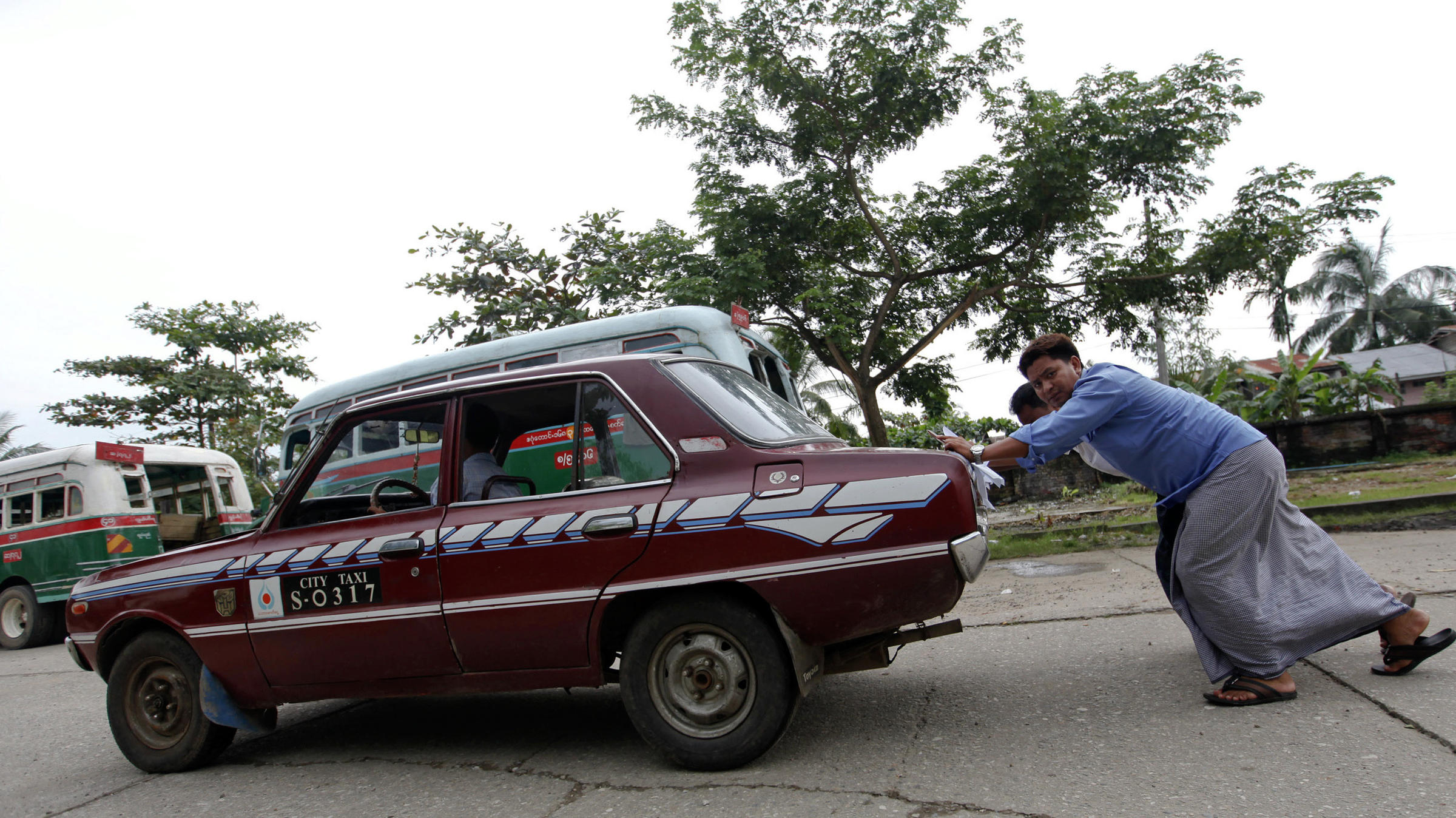 Cars For Clunkers: Myanmar Swaps Old Rides For New | Valley Public Radio