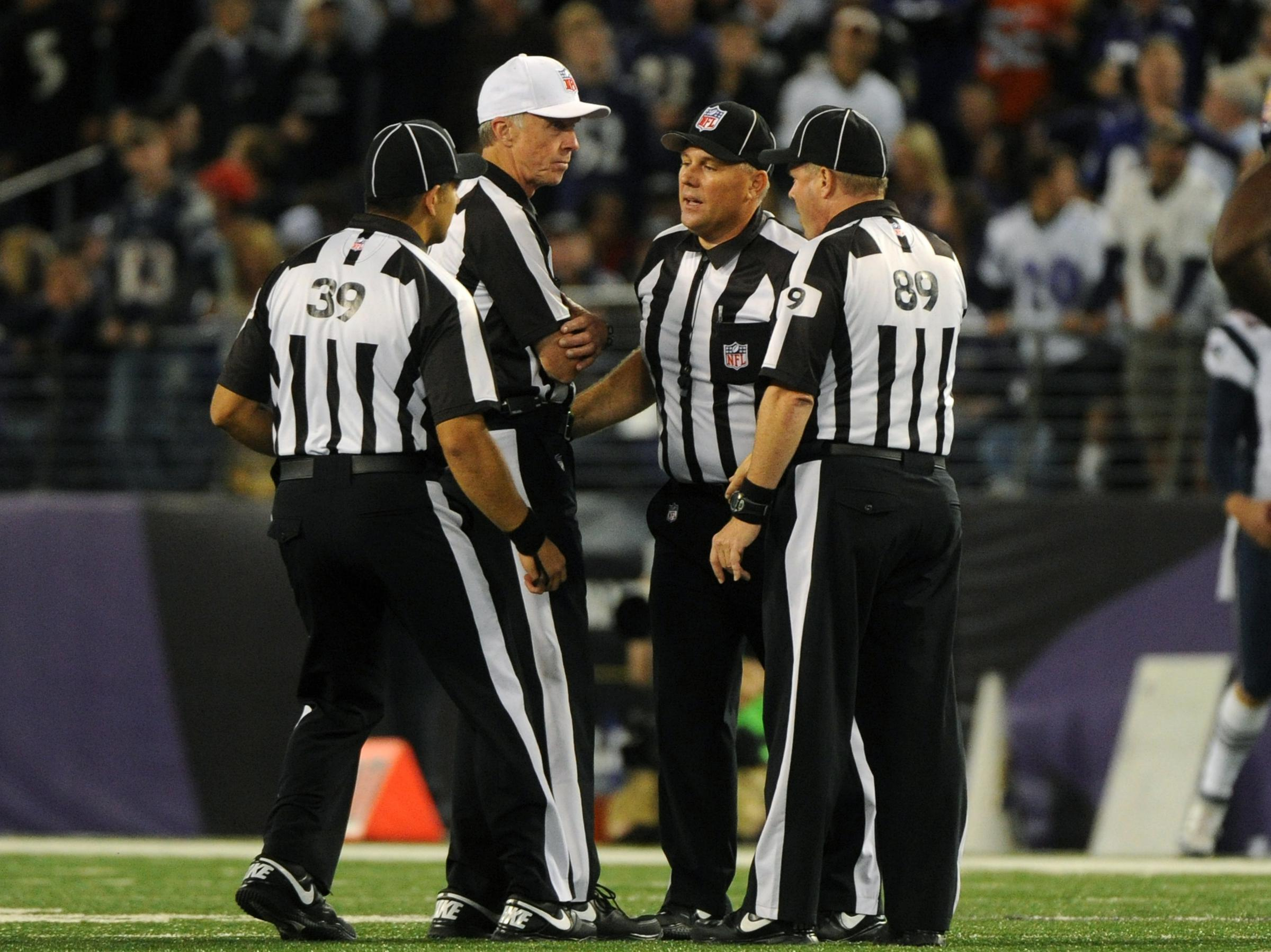 After Uproar No Clear Signal That Nfl Refs Will Be Back Soon Kcur