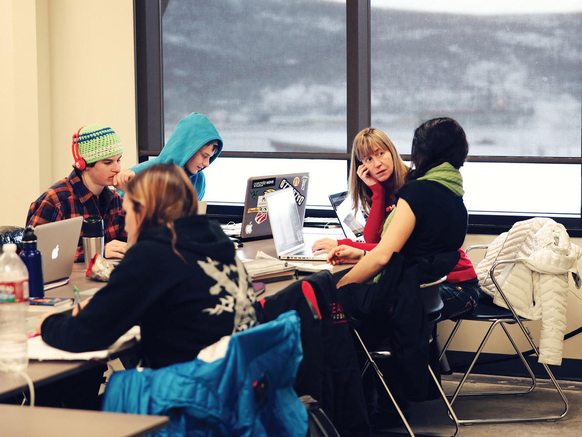 High Schoolers Hit The Slopes And The Books At Team Academy Wvxu