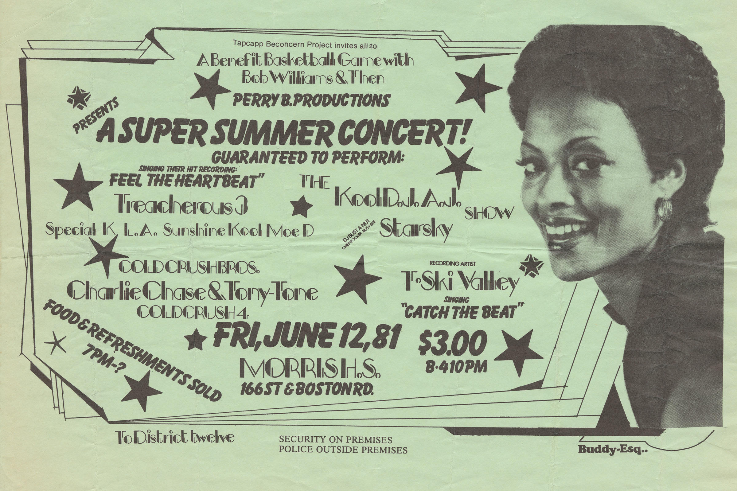 buddy esquire was a prolific handbill artist in hip hops early days in the south view slideshow 5 of 9