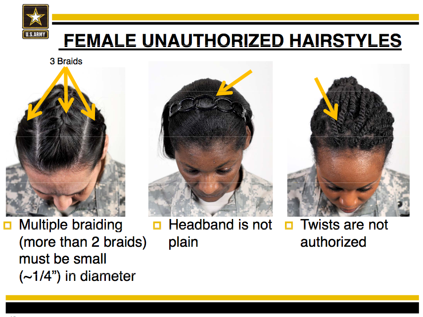 Congressional Black Caucus Urges Rethink Of Army Hair Rules Kera News