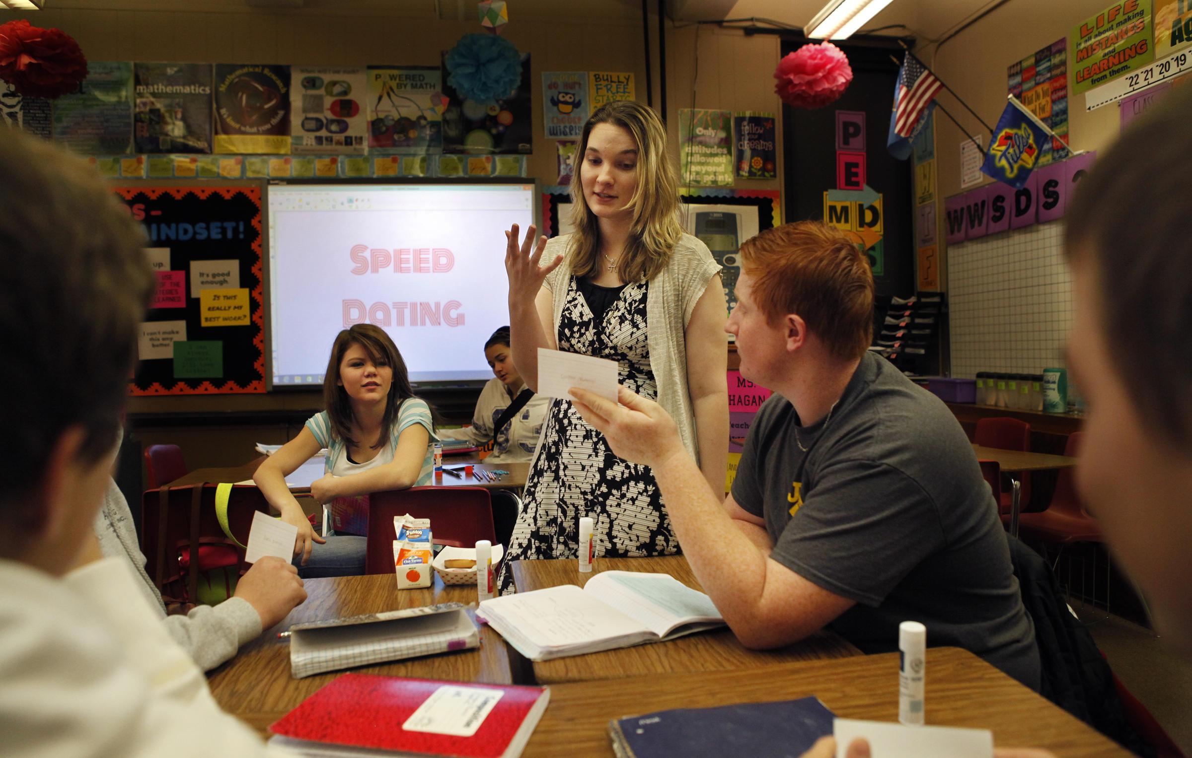 speed dating math classroom