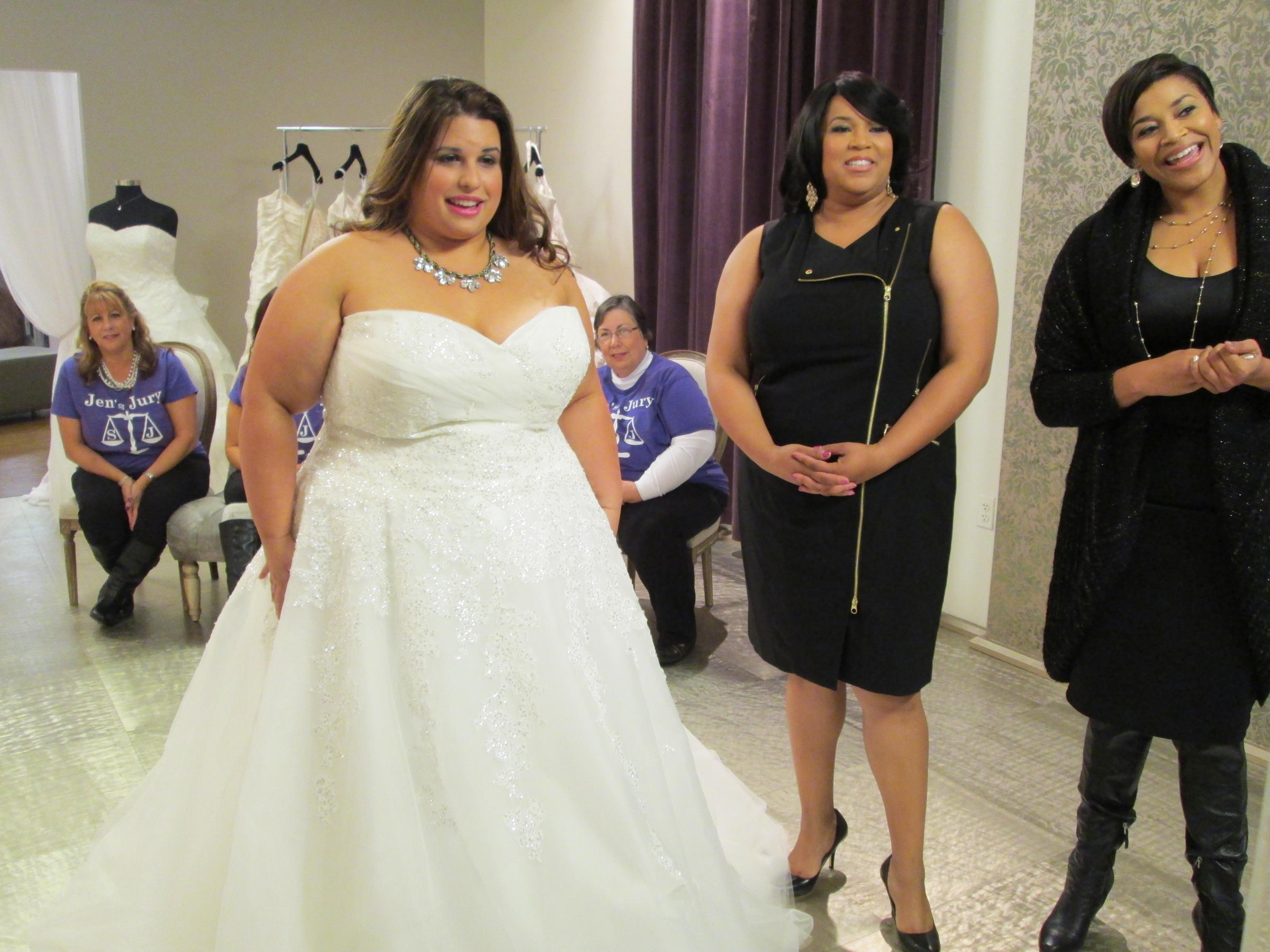 Stars Of TLC\'s \'Curvy Brides\': All Curves Are Beautiful   WFAE