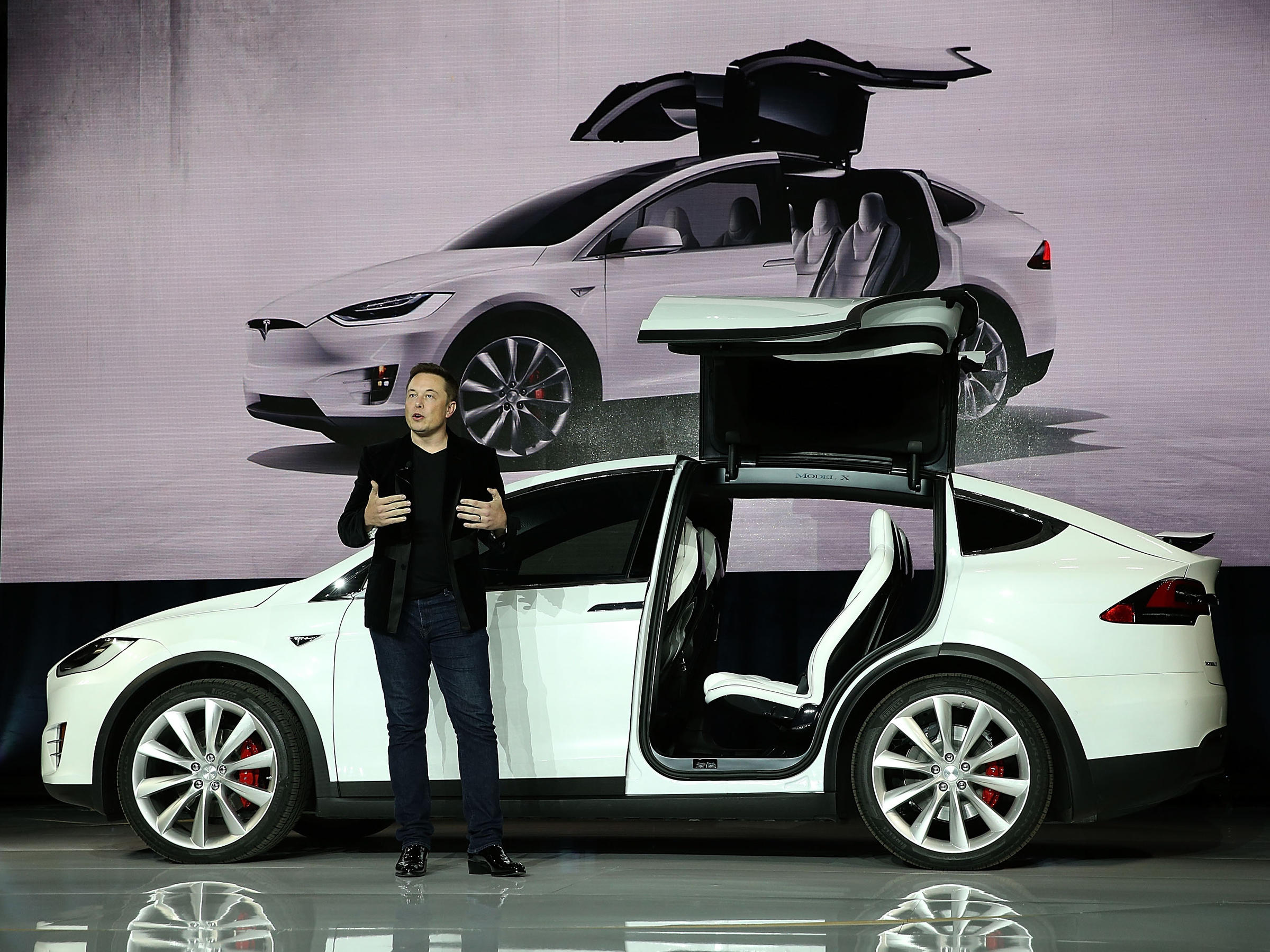 Tesla Unveils Its Model X plete With A Bioweapon Defense