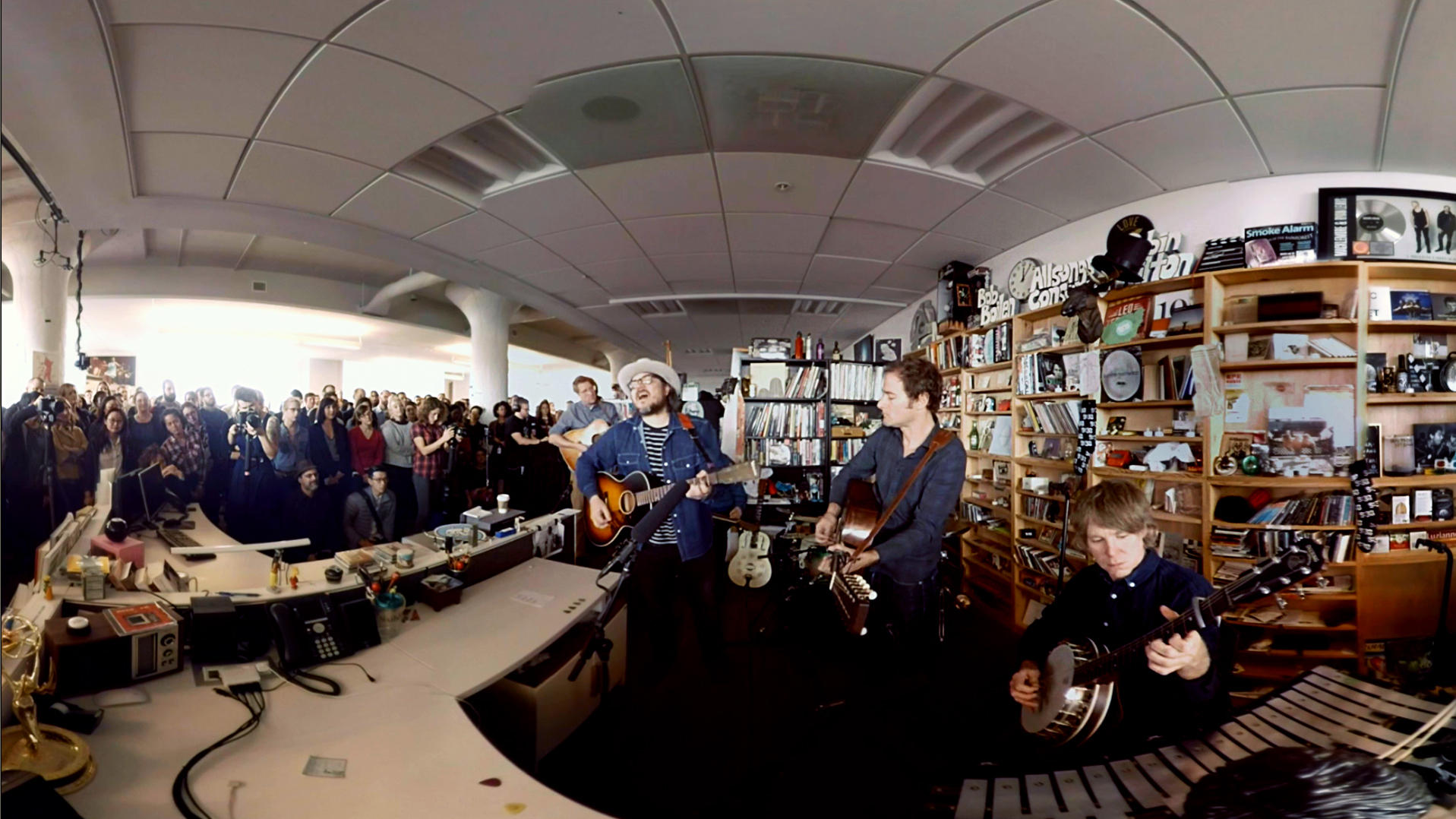 Wilco Played At NPR Musics Tiny Desk We Filmed It In 360 Degrees