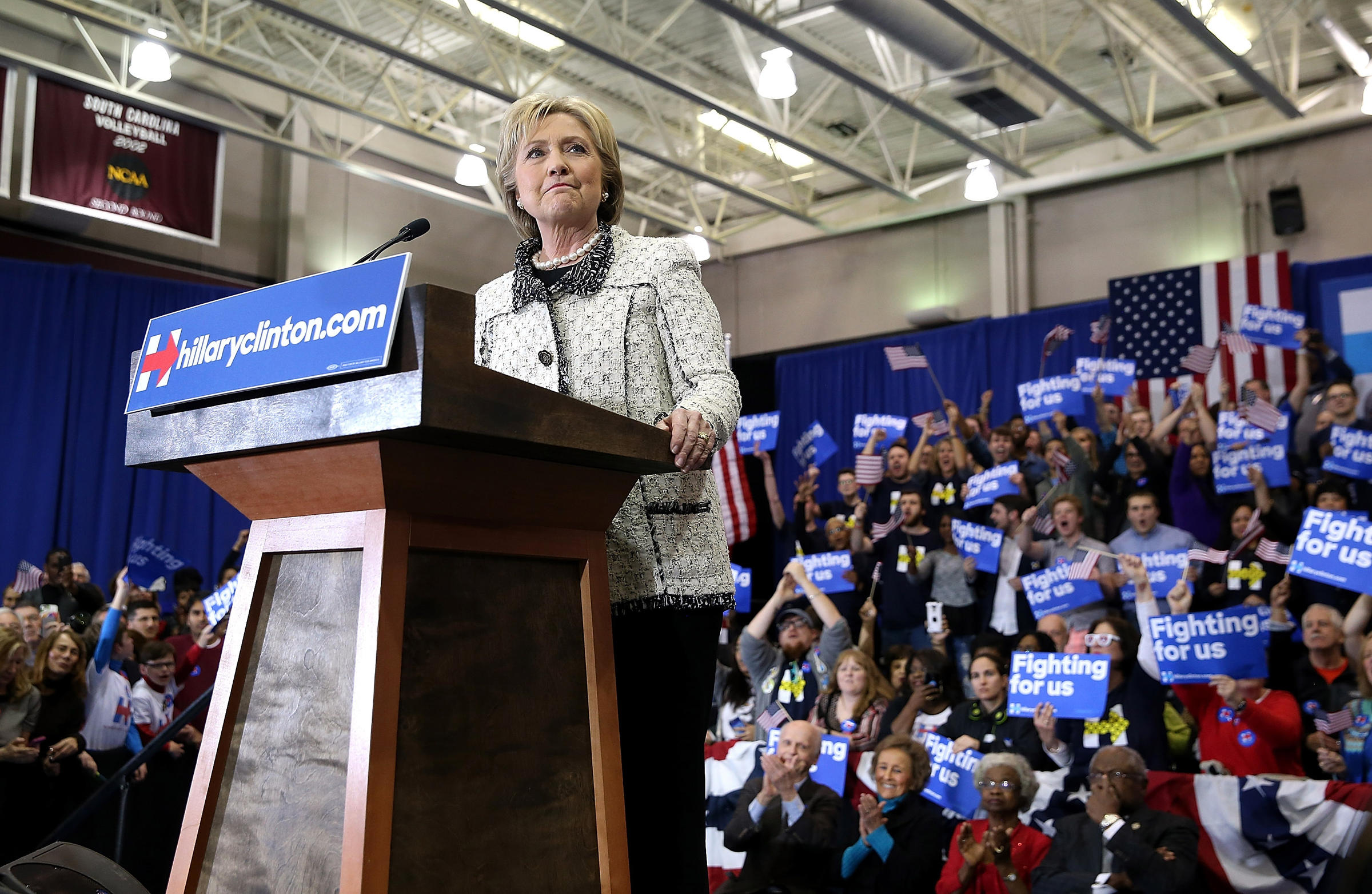 Suddenly, South Carolina Projects Clinton Power Into Super ...