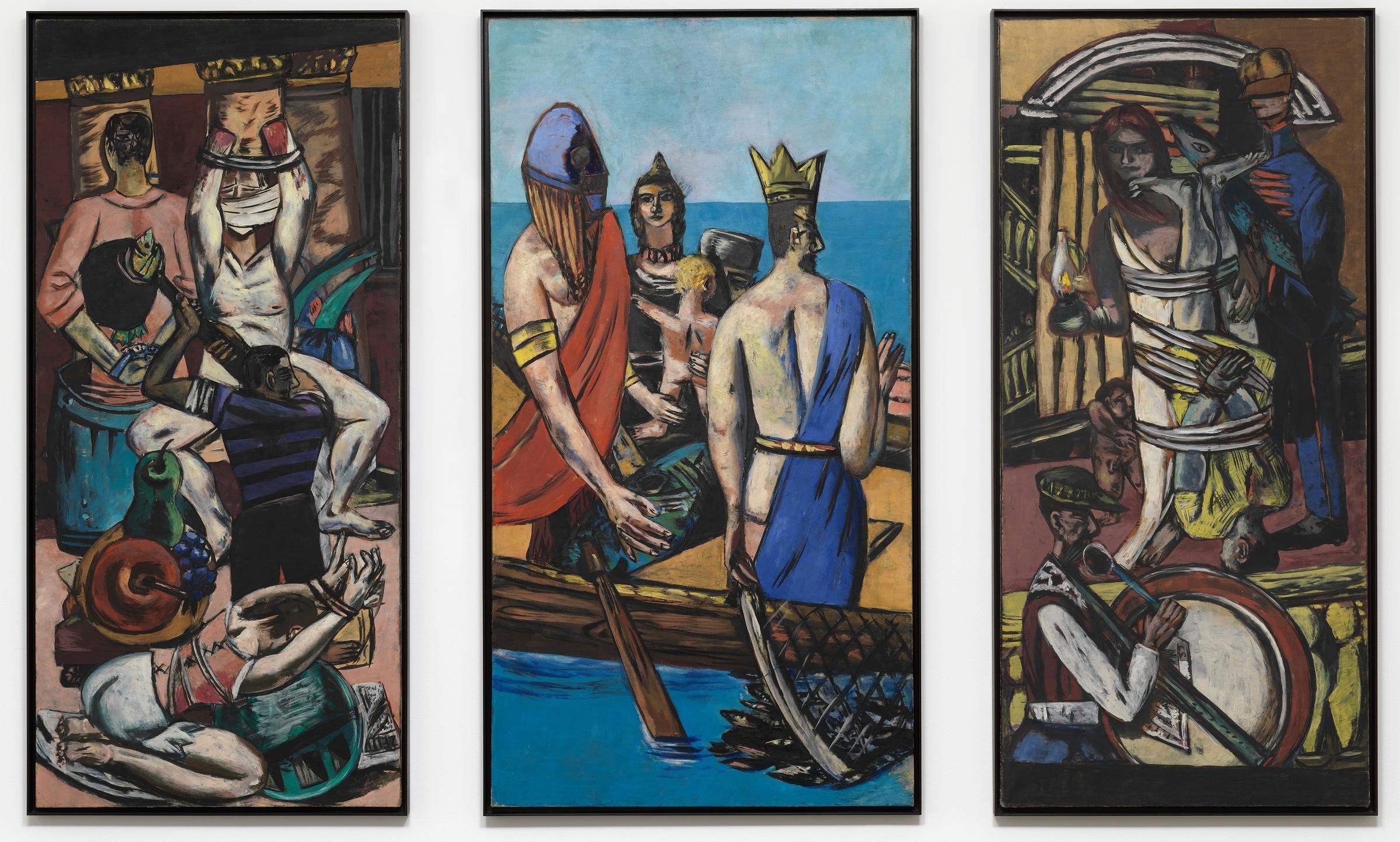 Departure (1932-1933), by Max Beckmann.