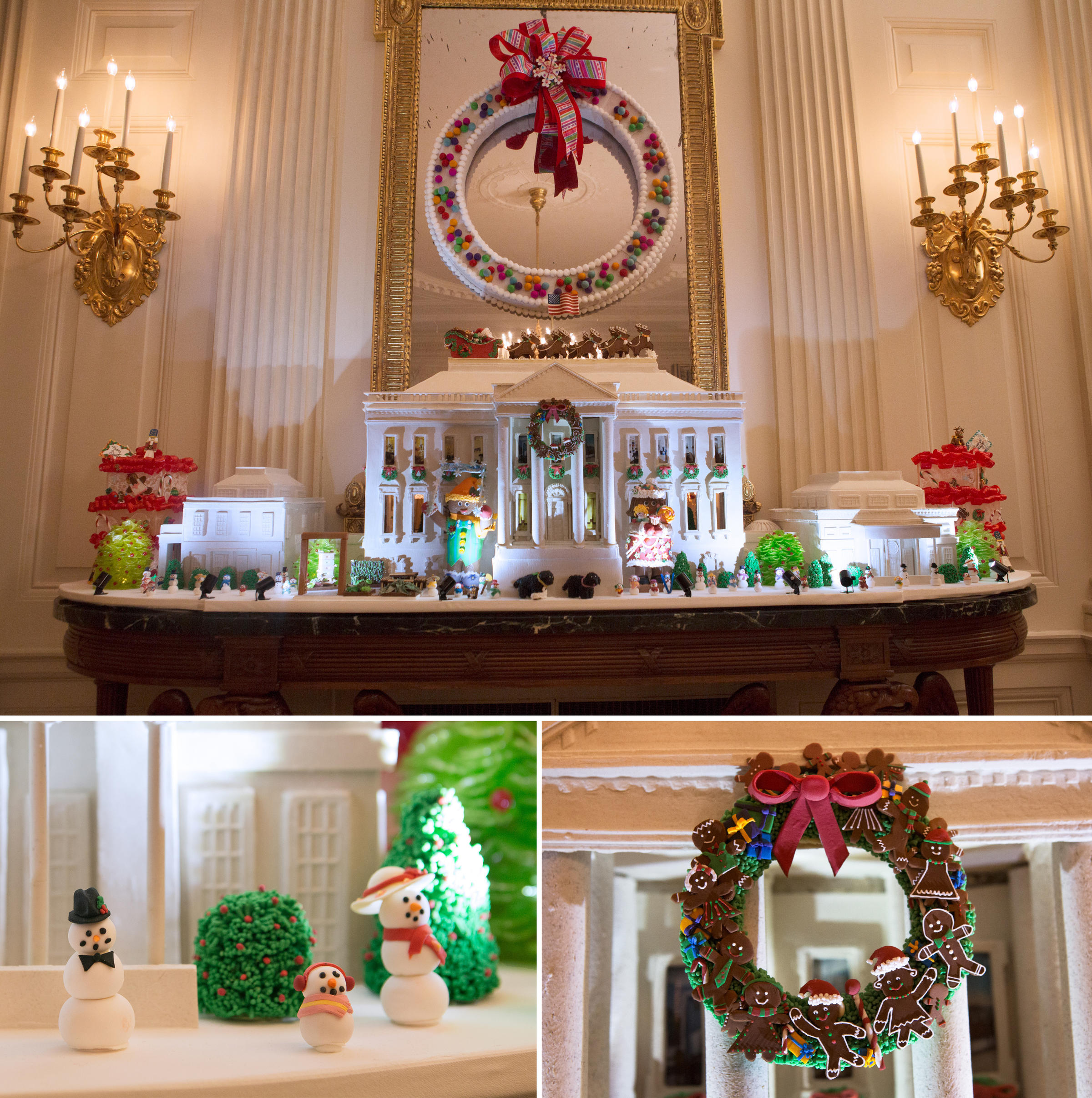 This yearu0027s White House Gingerbread House is