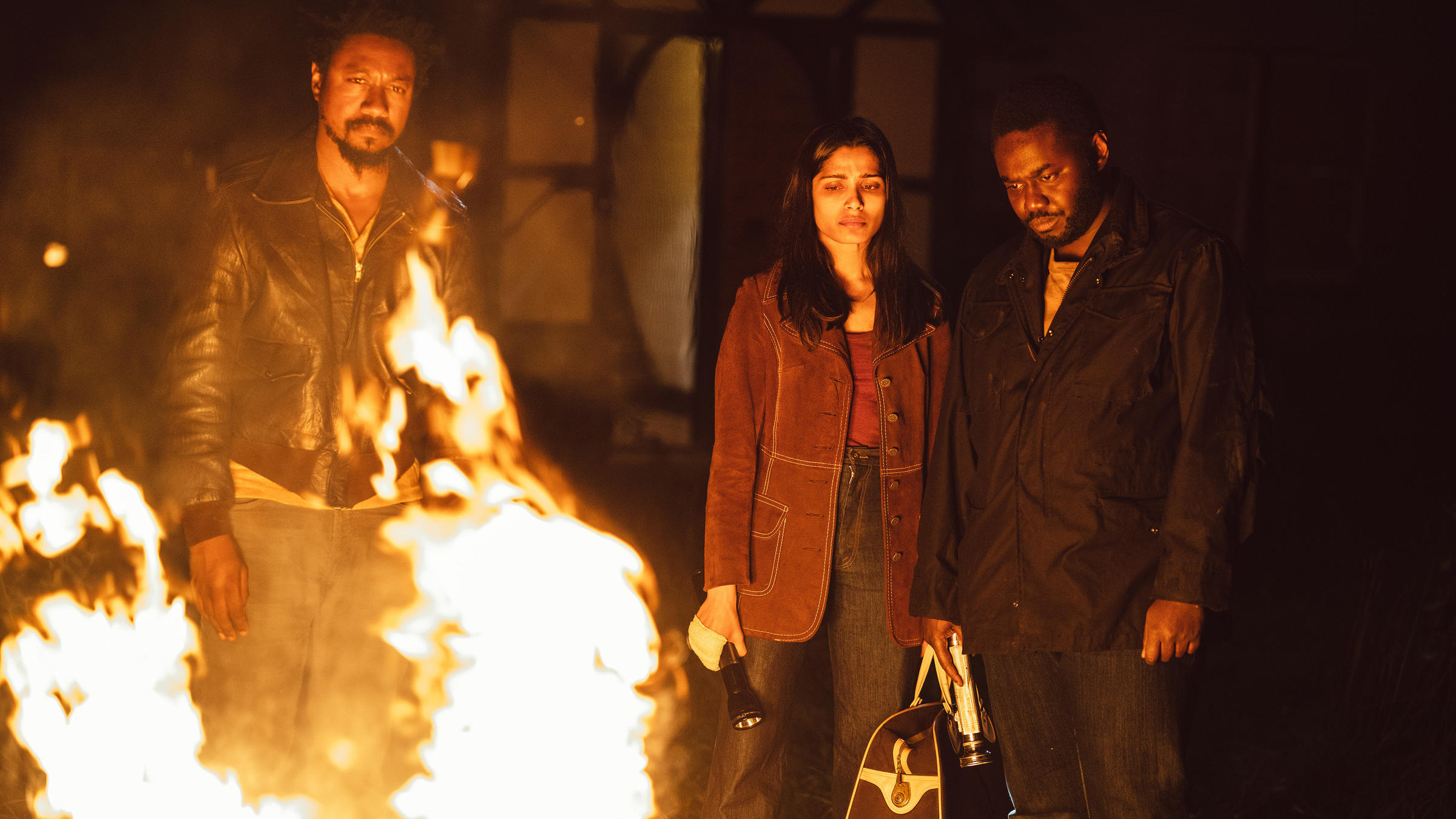 Nathaniel Martello-White, Freida Pinto and Babou Ceesay star in John  Ridley's new series Guerilla. The show explores the way humiliation and  marginalization ...